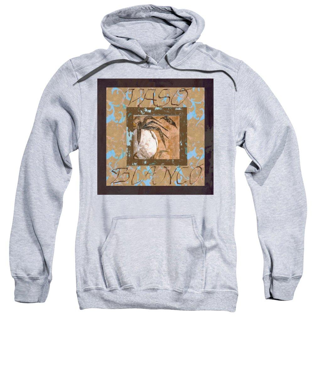 Decor Sweatshirt featuring the painting Bianco Vinaccia by Guido Borelli