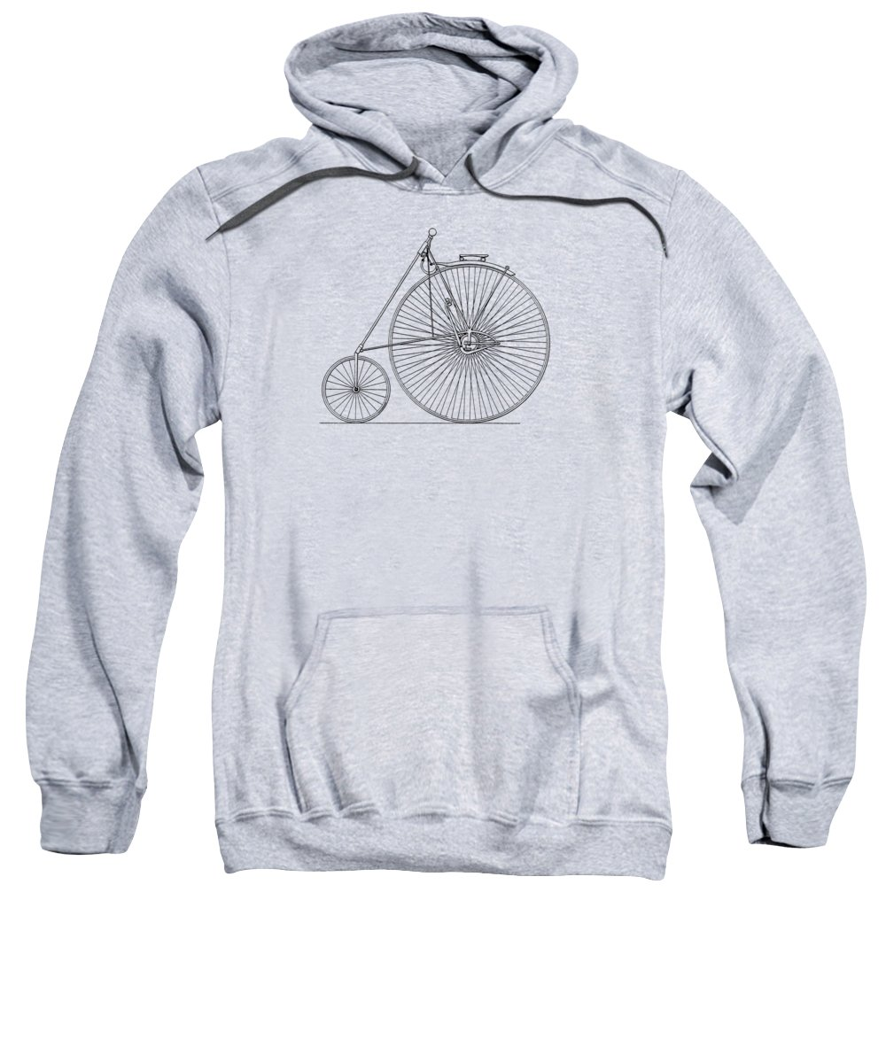 Bicycle Sweatshirt featuring the photograph Bicycle 1885 by Mark Rogan