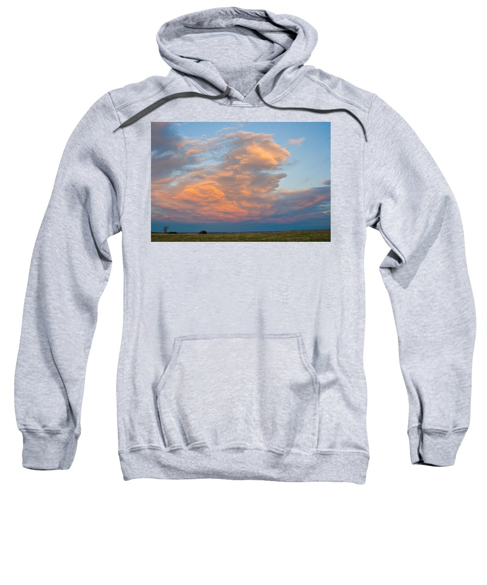 Sunset Sweatshirt featuring the photograph Big Country Sunset Sky by James BO Insogna