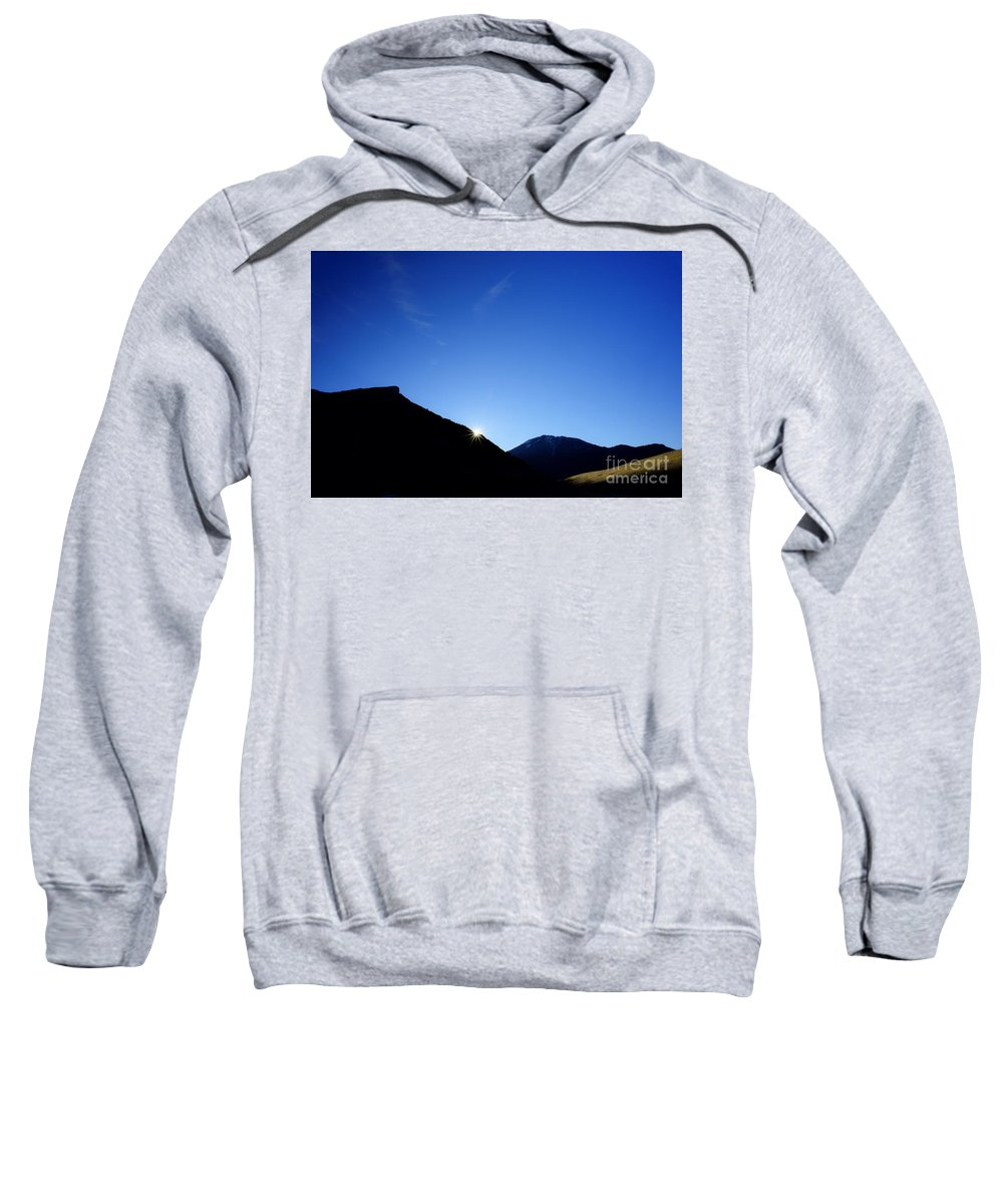 Landscape Sweatshirt featuring the photograph Big Sky Country by Chip Laughton
