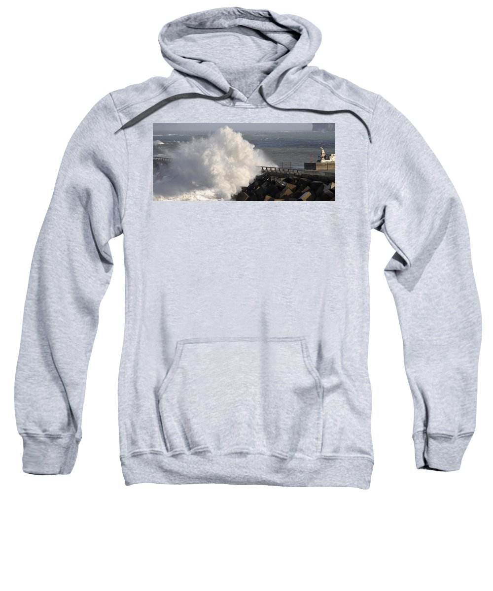Spain Sweatshirt featuring the photograph Big Wave by Rafa Rivas