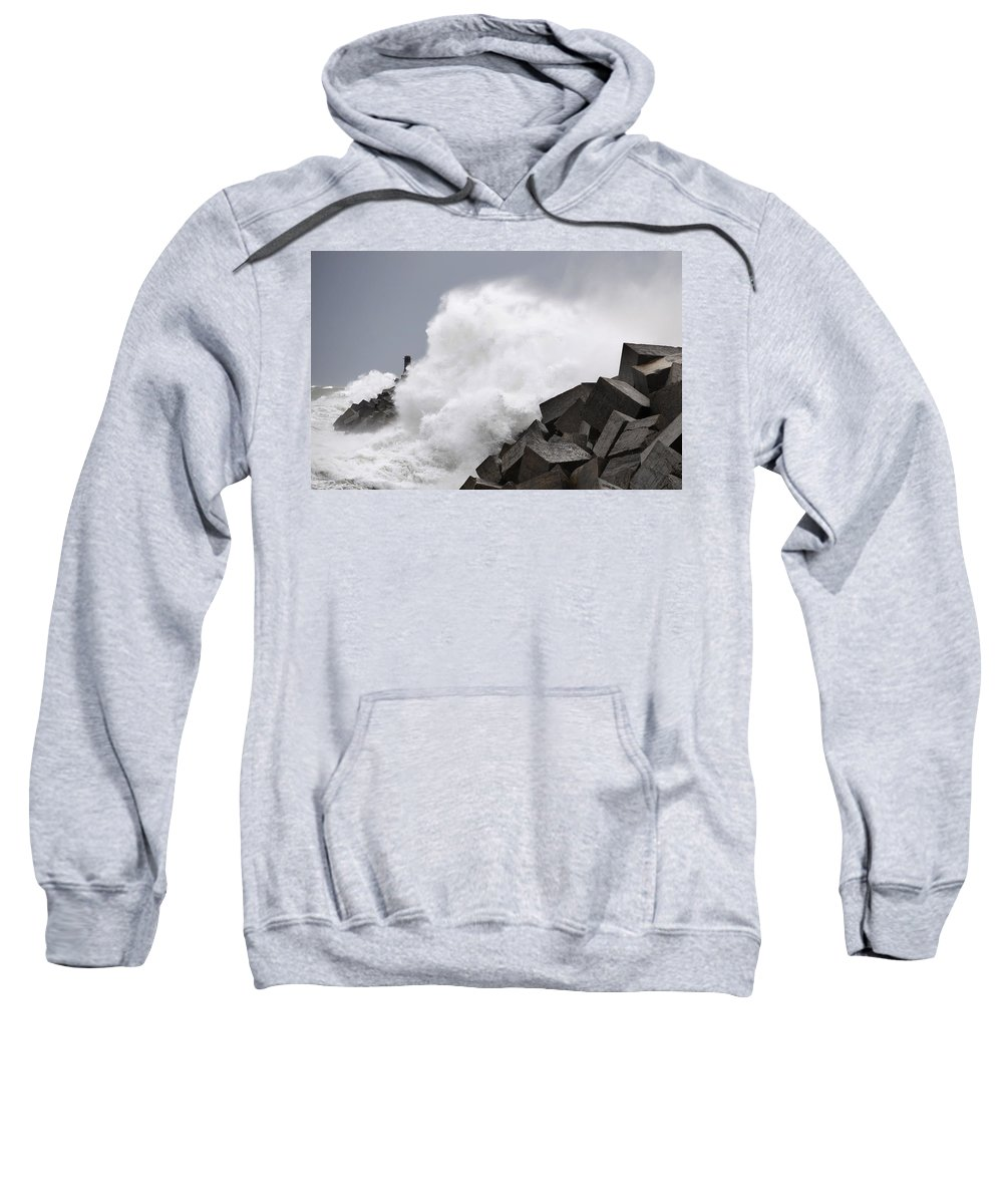Spain Sweatshirt featuring the photograph Big Waves II by Rafa Rivas