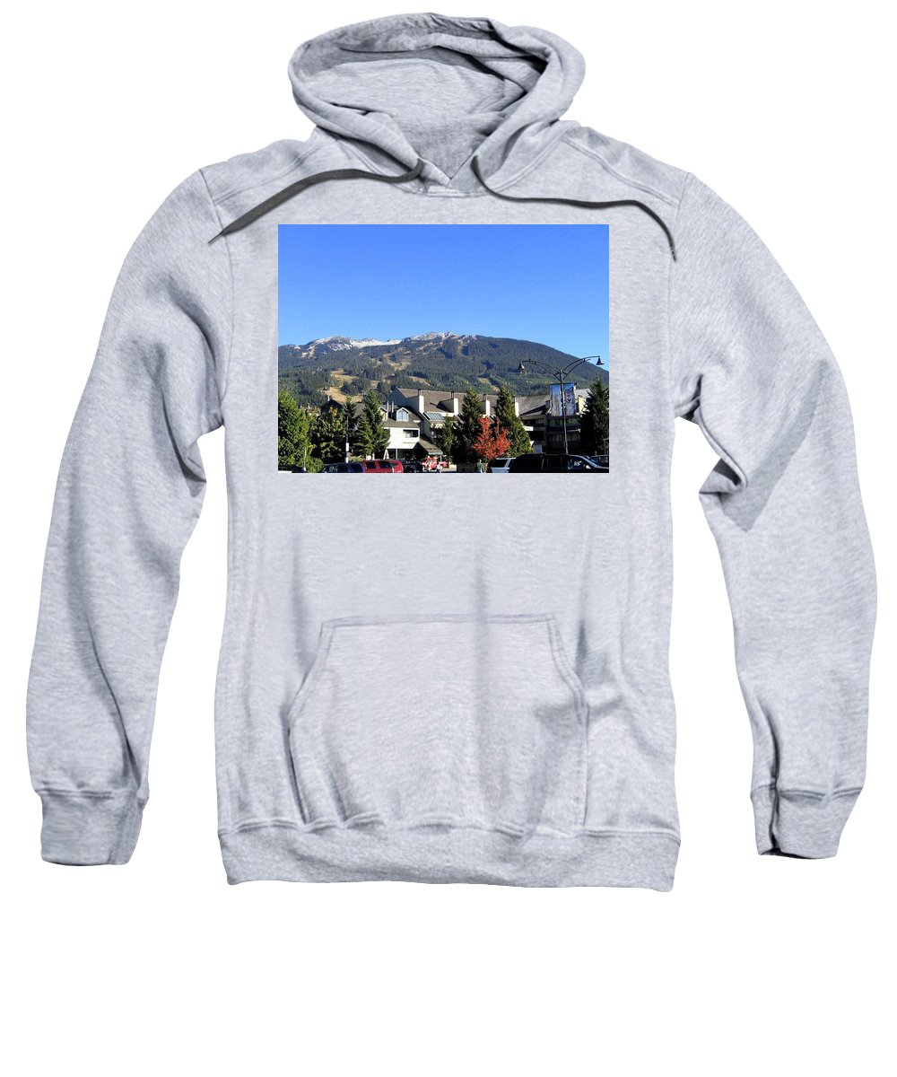 2010 Olympics Sweatshirt featuring the photograph Blackcomb Mountain by Will Borden