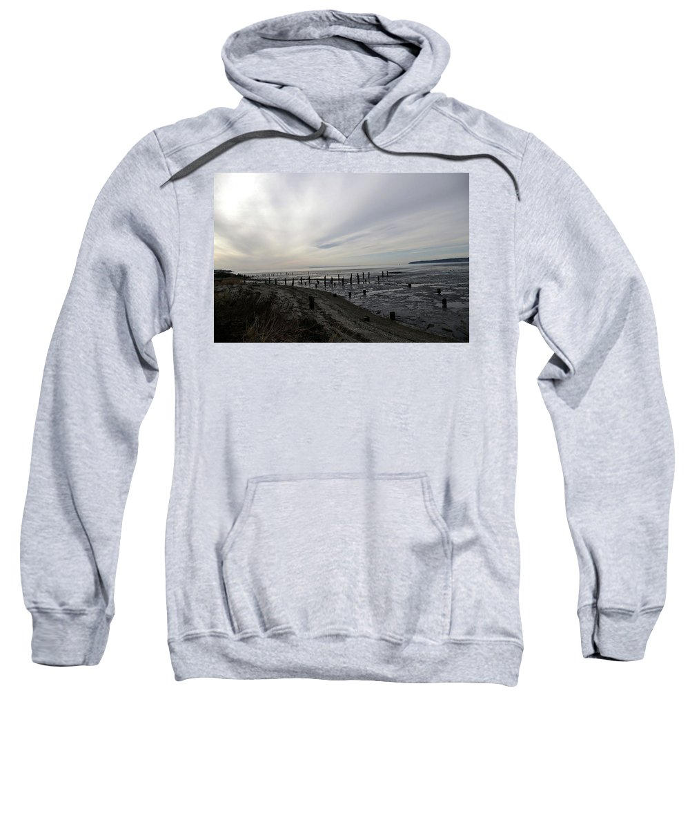 Beaches Sweatshirt featuring the photograph Blaine by Jeff Swan