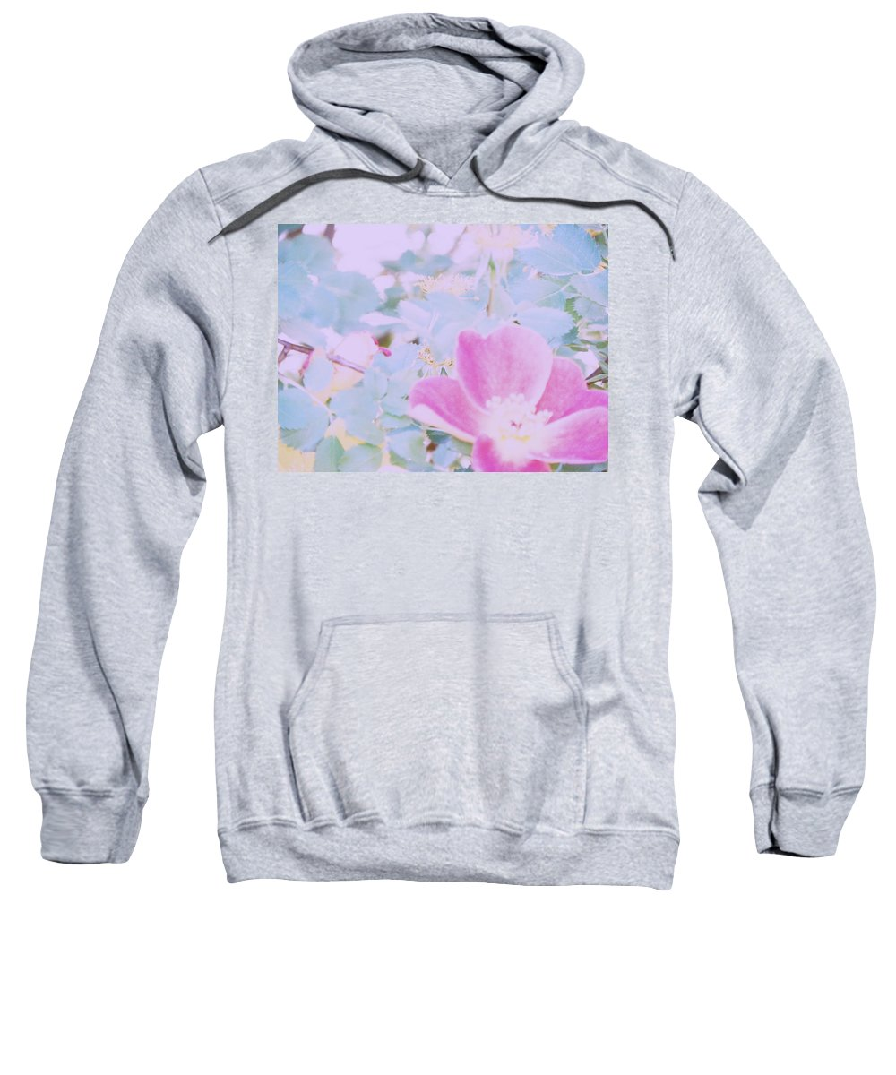 Abstract Sweatshirt featuring the photograph Blanket Of Leaves by Lenore Senior