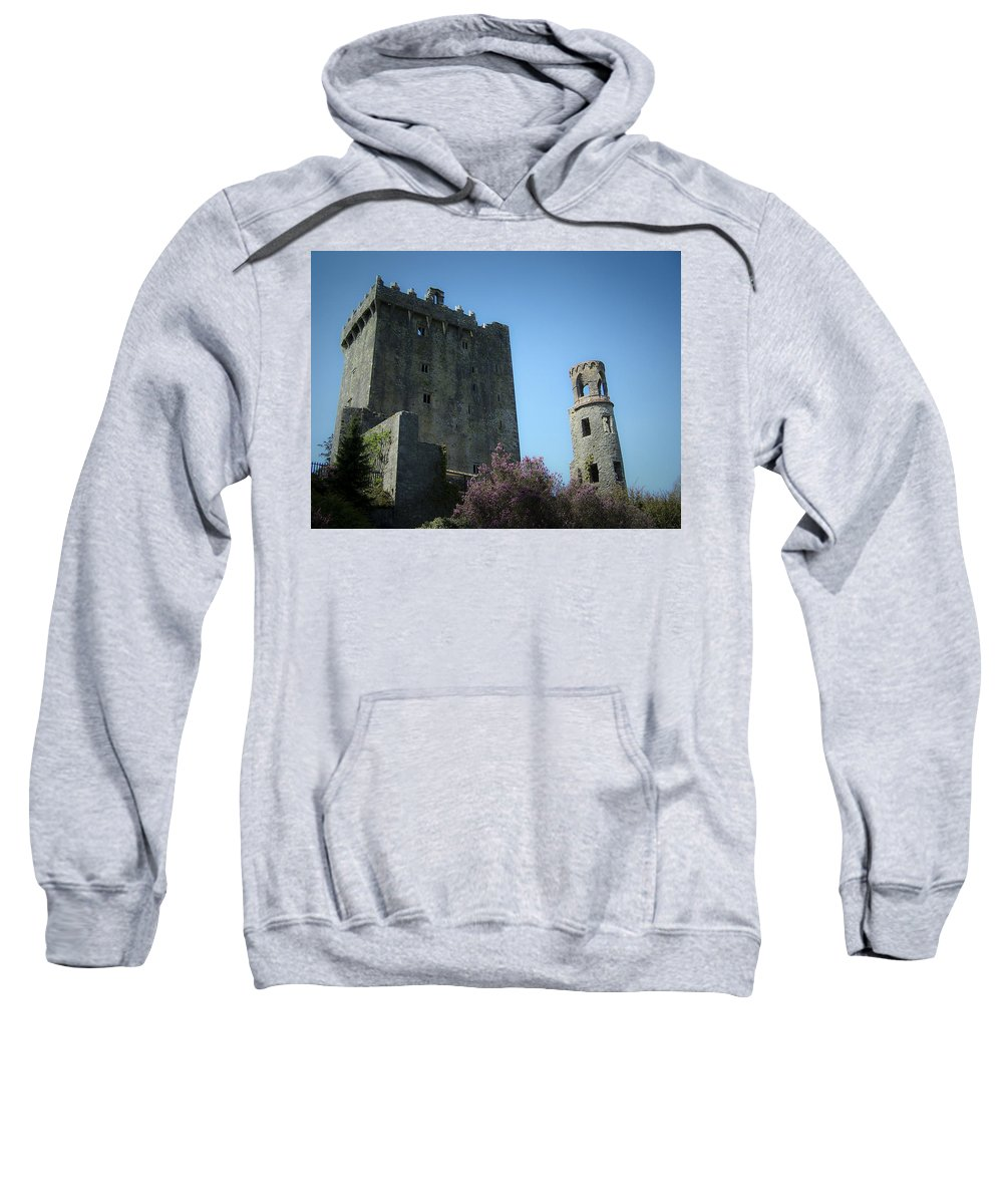 Irish Sweatshirt featuring the photograph Blarney Castle And Tower County Cork Ireland by Teresa Mucha