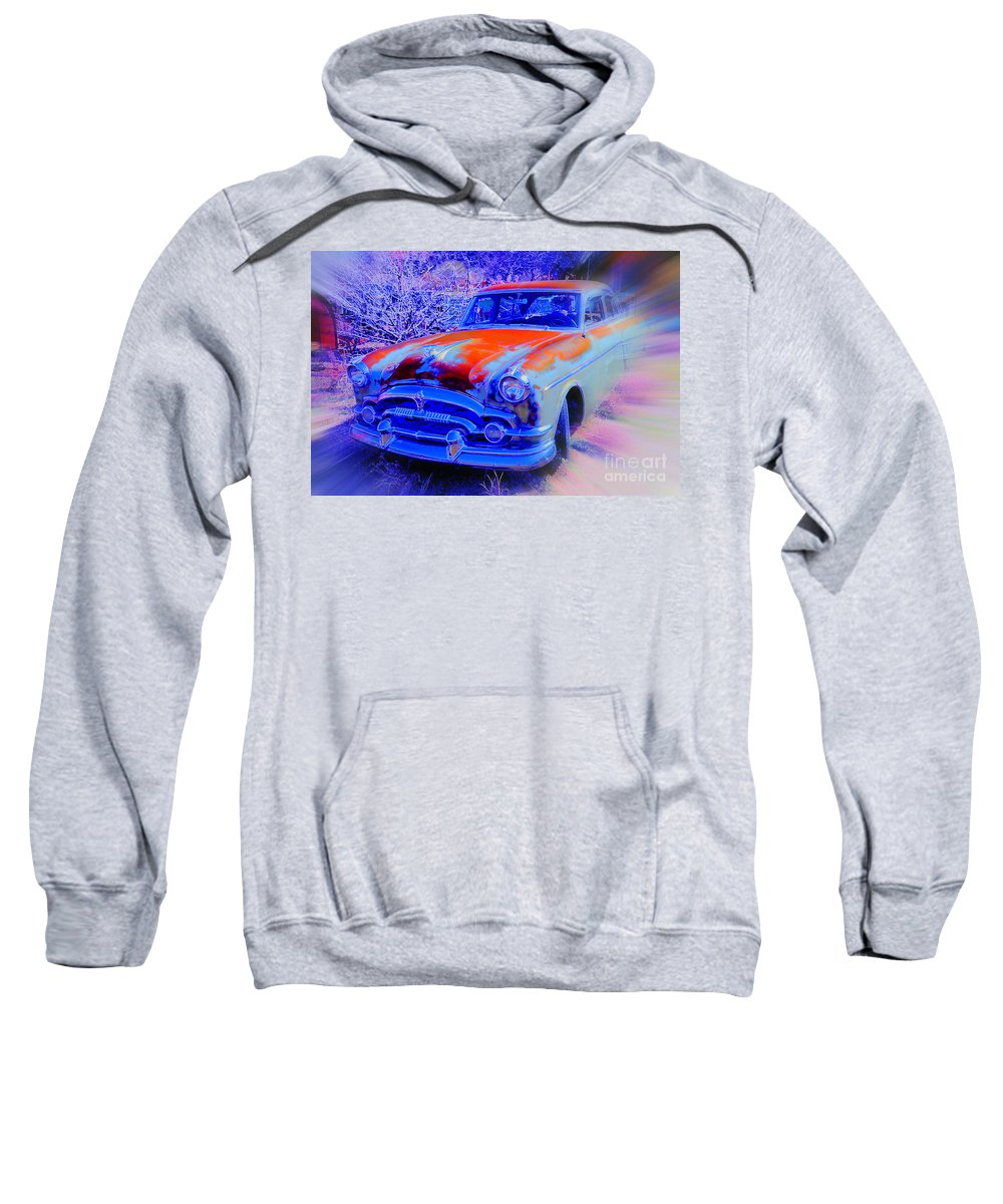 Sweatshirt featuring the photograph Blast From The Past by Daniel Schlosser