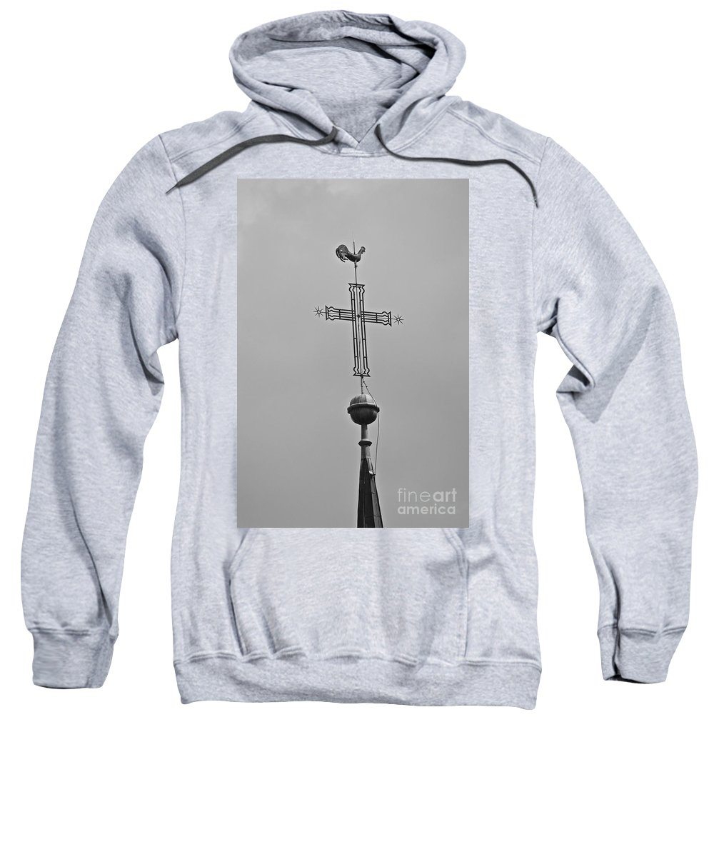 Blessing Sweatshirt featuring the photograph Blessed Skies by Photos By Zulma