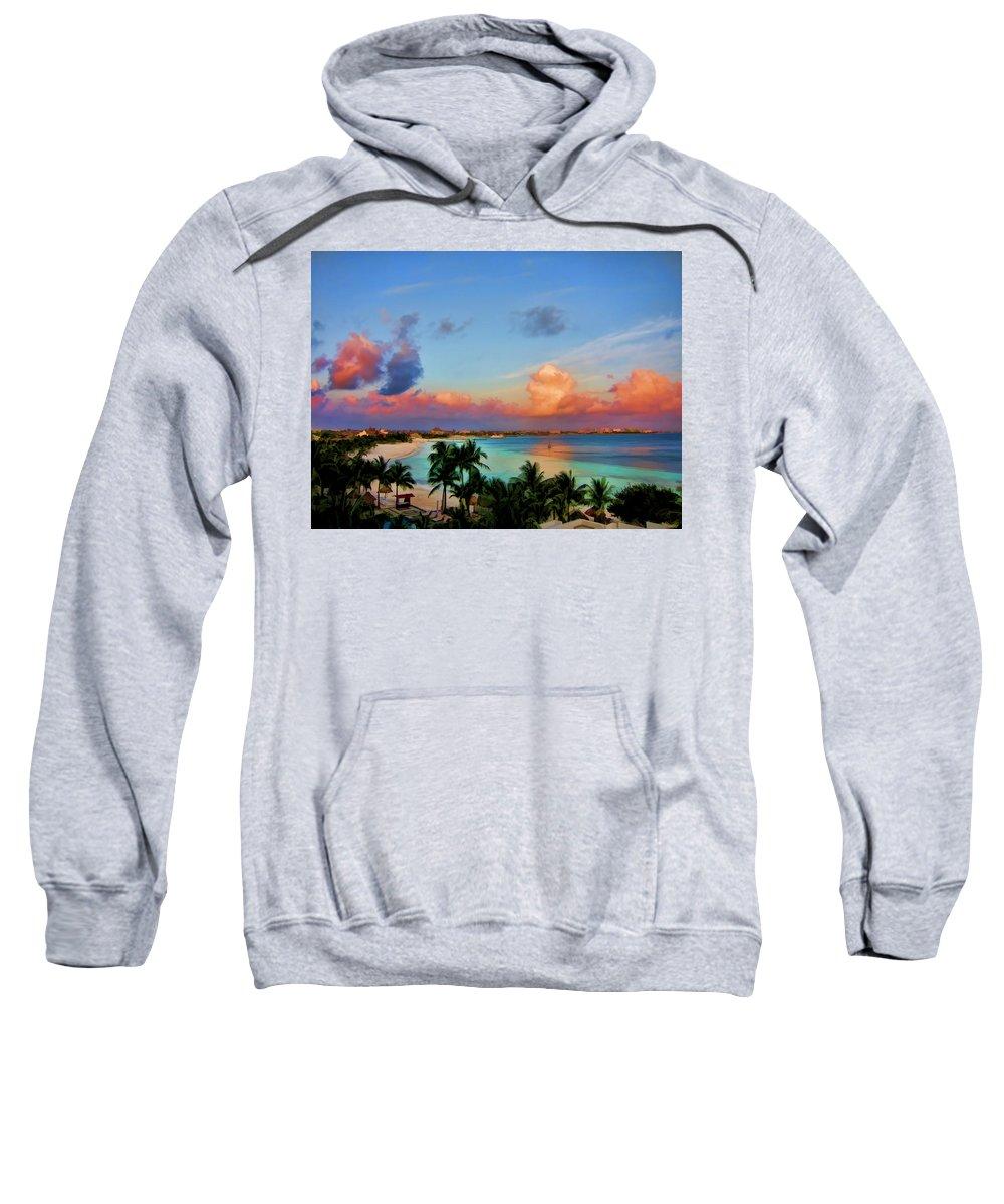 Clouds Sweatshirt featuring the photograph Bliss by Douglas Barnard