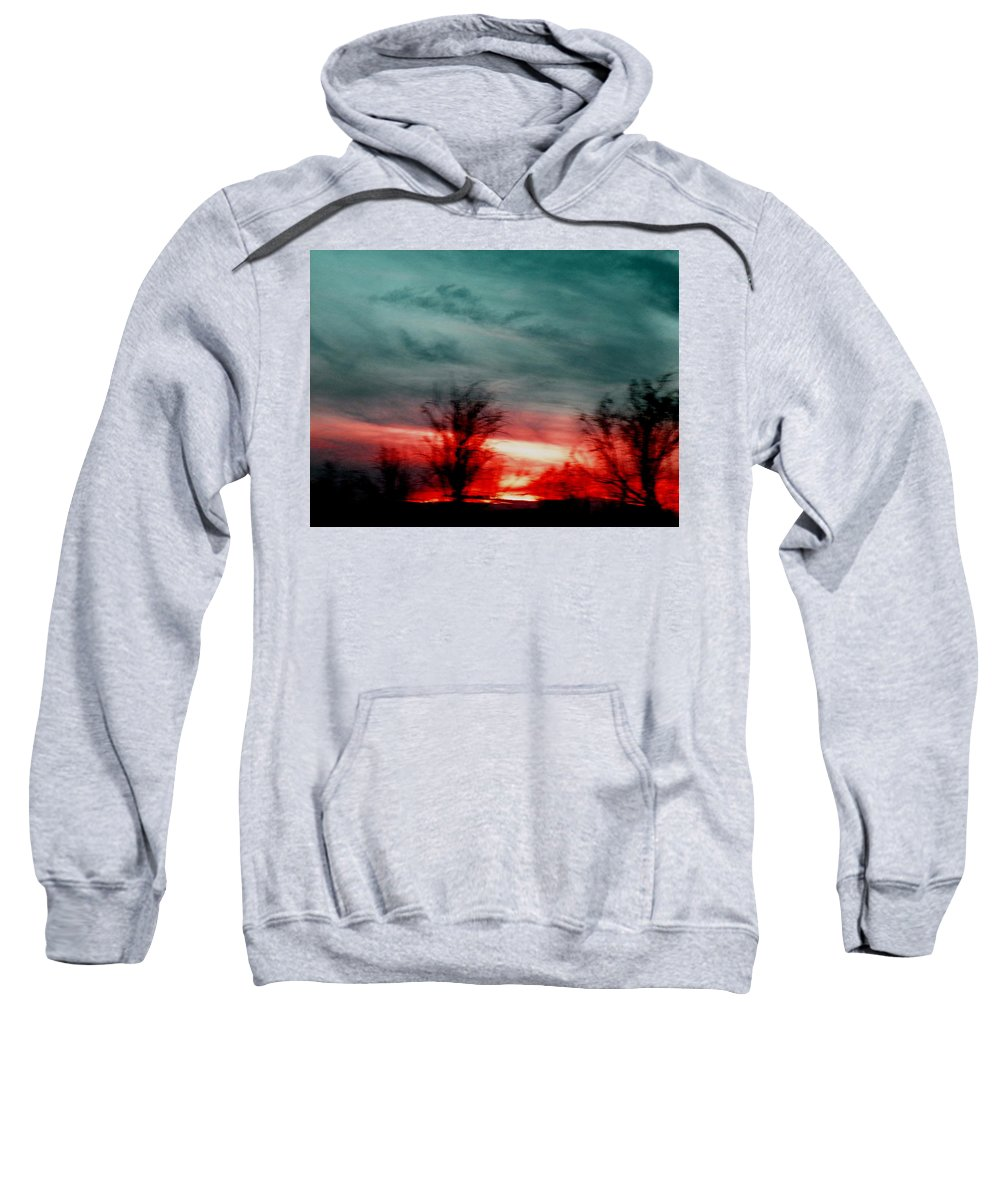 Landscape Sweatshirt featuring the photograph The Memory Remains by M Pace