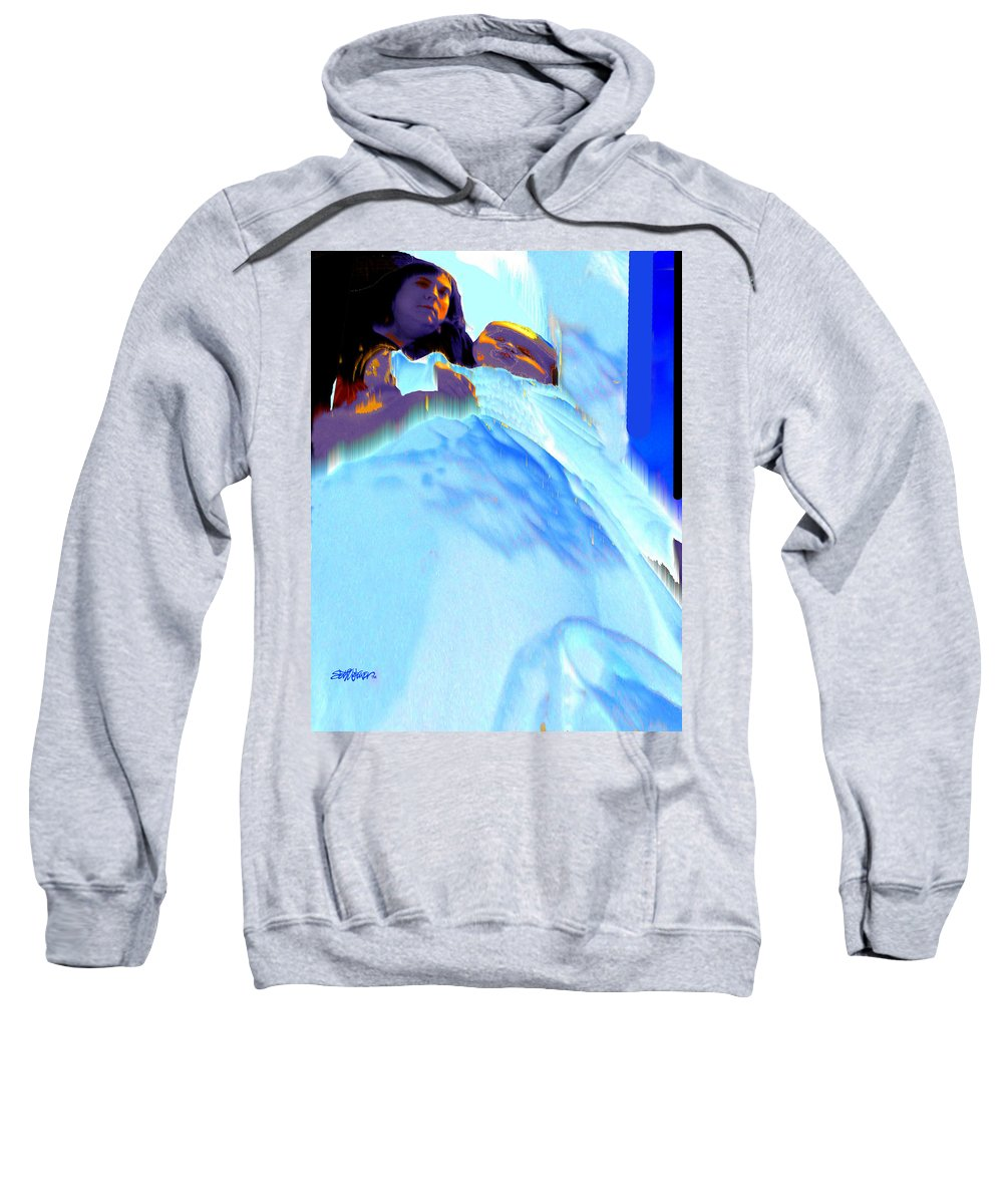 Baby Sweatshirt featuring the photograph Blue Blanket by Seth Weaver