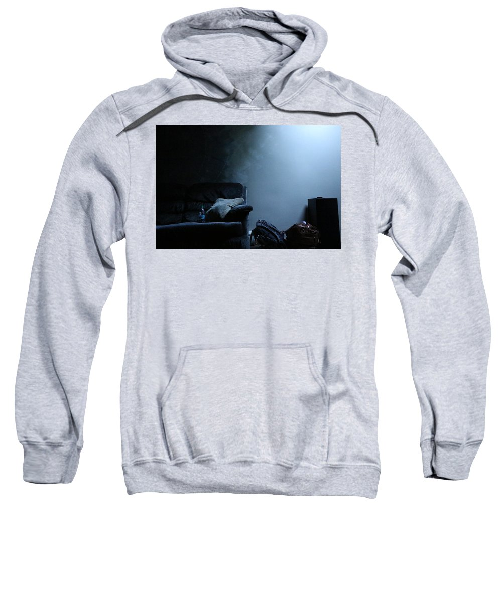 Still Life Sweatshirt featuring the photograph Blue by Kevin Cote