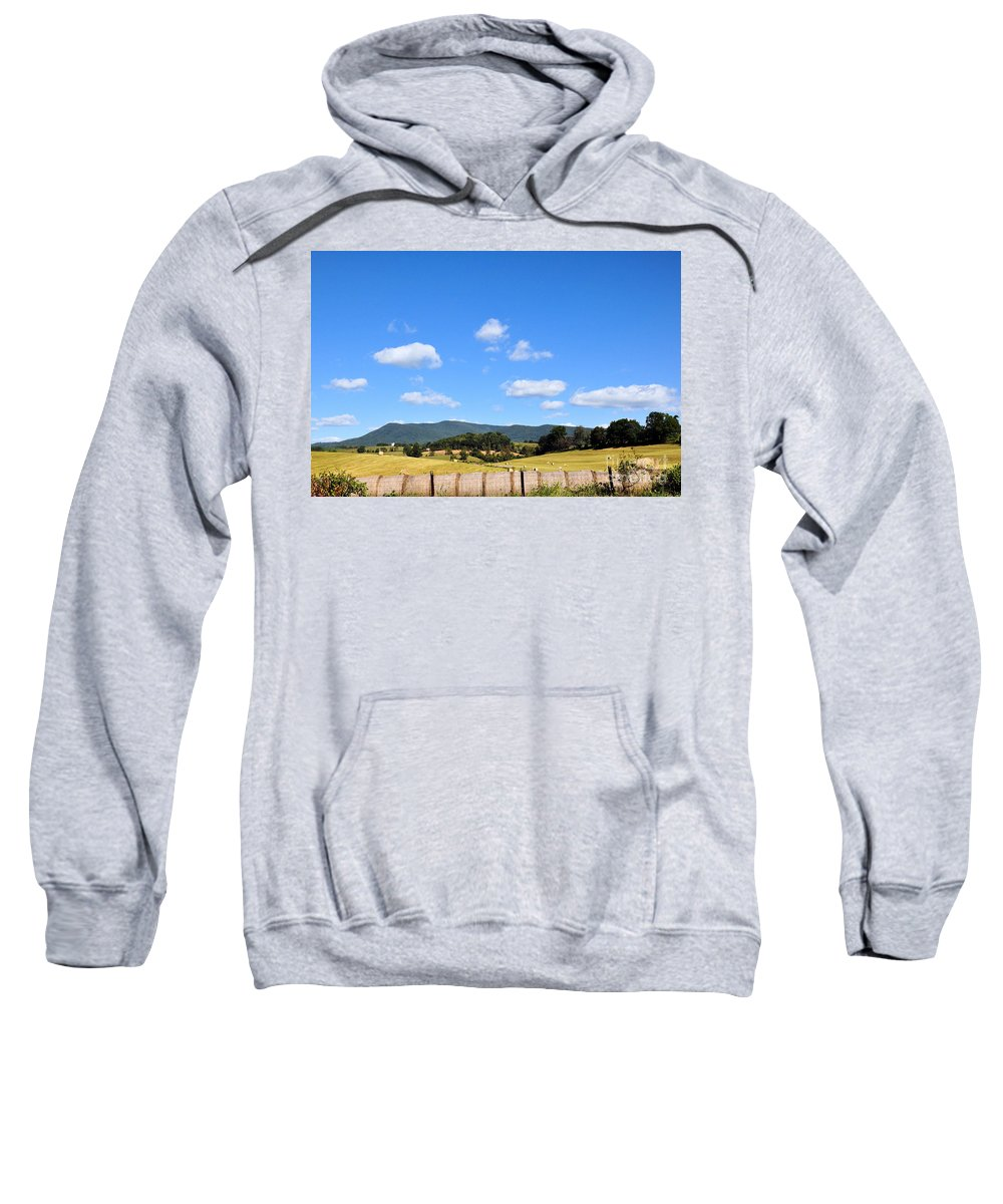 Mountains Sweatshirt featuring the photograph Blue Skies by Todd Hostetter