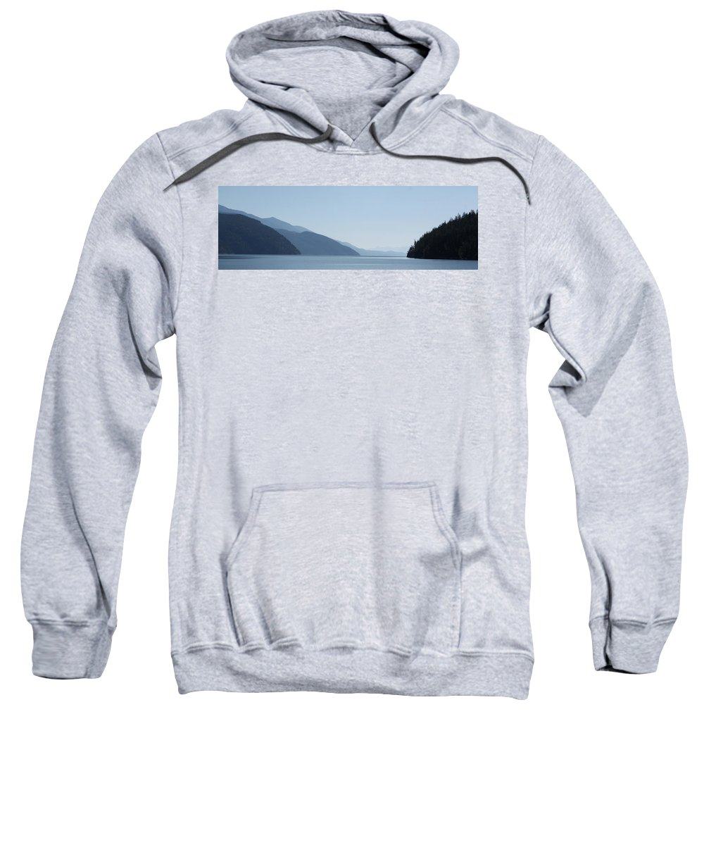 Blue Summer Sweatshirt featuring the photograph Blue Summer by Cathie Douglas