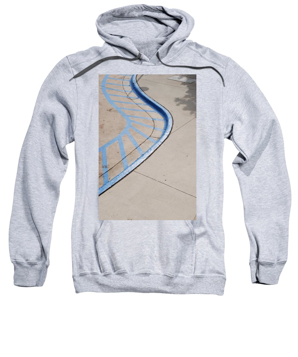 Blue Sweatshirt featuring the photograph Blue Zone by Rob Hans