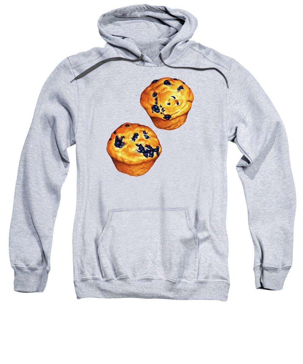 Blueberry Hooded Sweatshirts T-Shirts