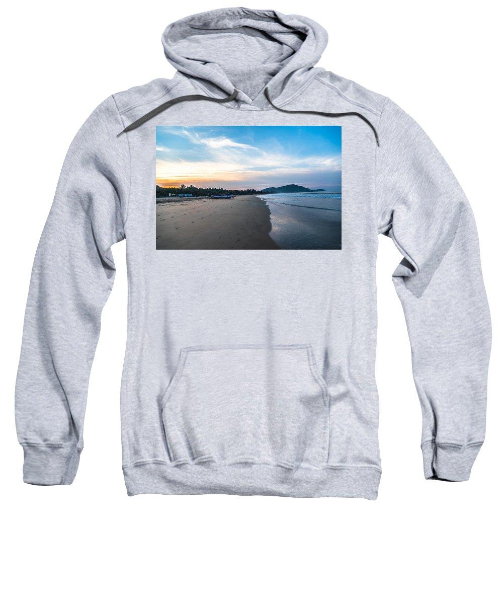 Beautiful Sweatshirt featuring the photograph Blued Beauty by Anupam Gupta