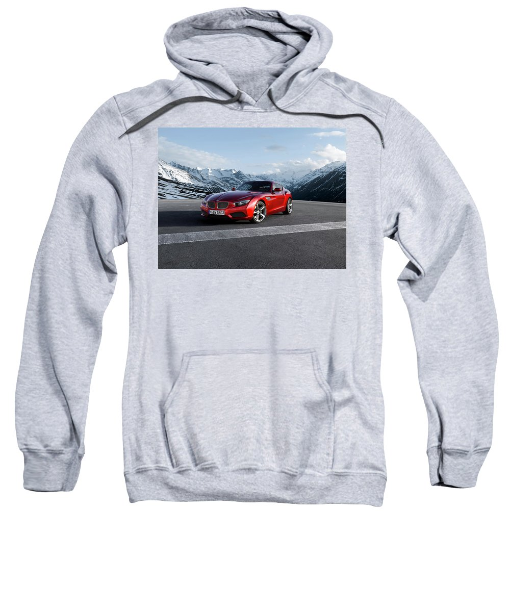 Bmw Zagato Coupe Sweatshirt featuring the photograph Bmw Zagato Coupe by Jackie Russo