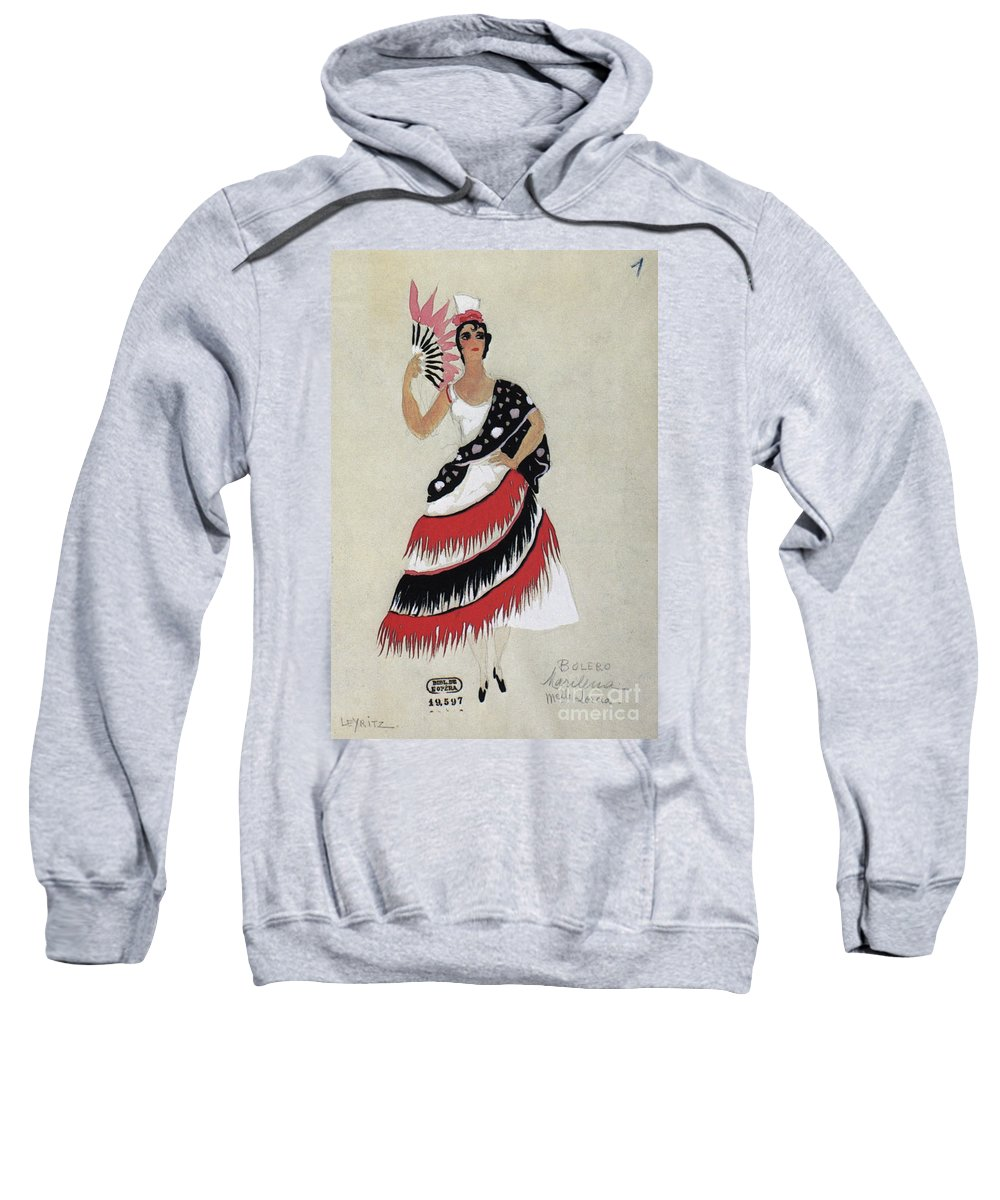 1941 Sweatshirt featuring the photograph Bolero Costume by Granger