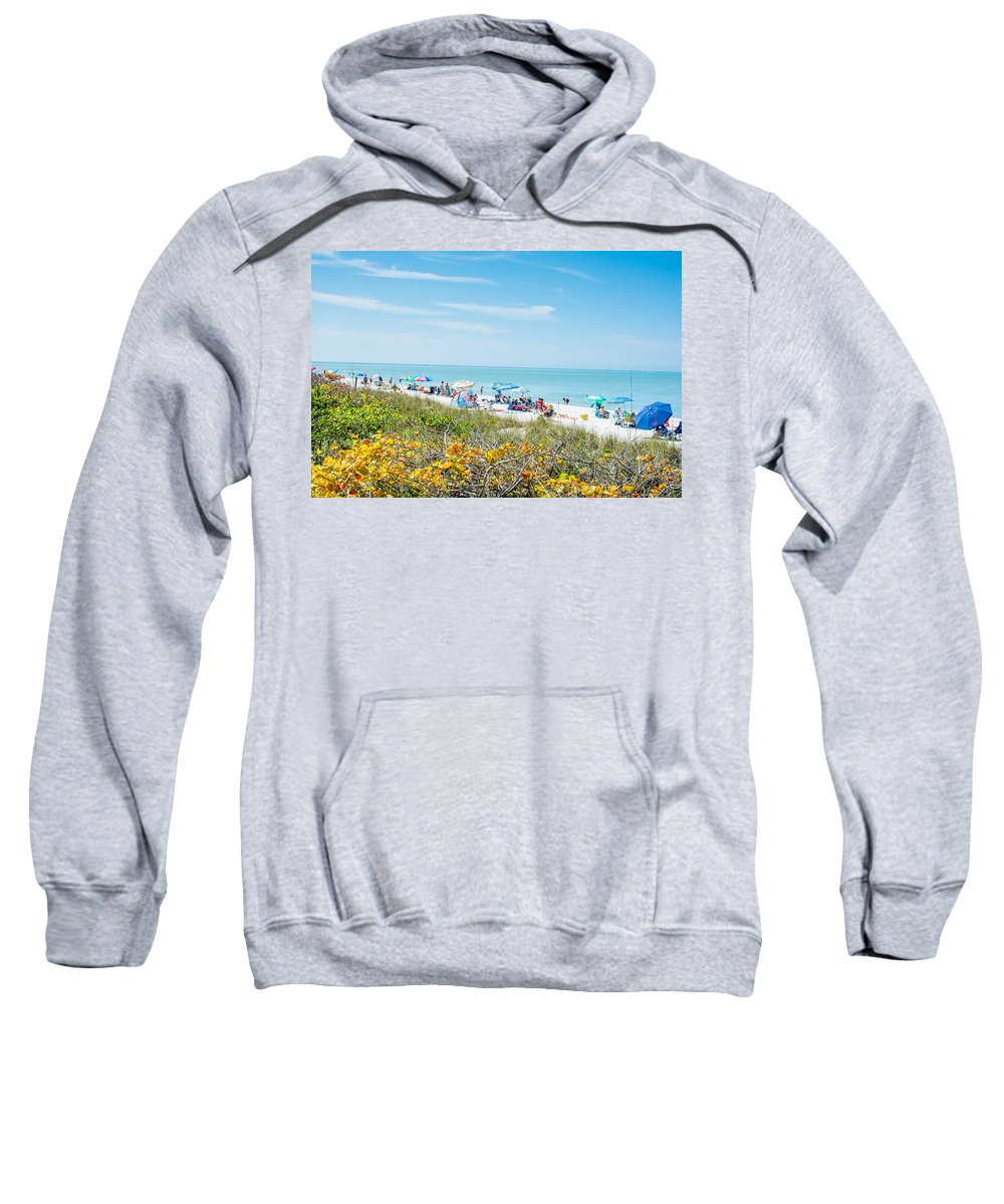Tropical Paradise Sweatshirt featuring the photograph Bonita Beach by Manuel Lopez