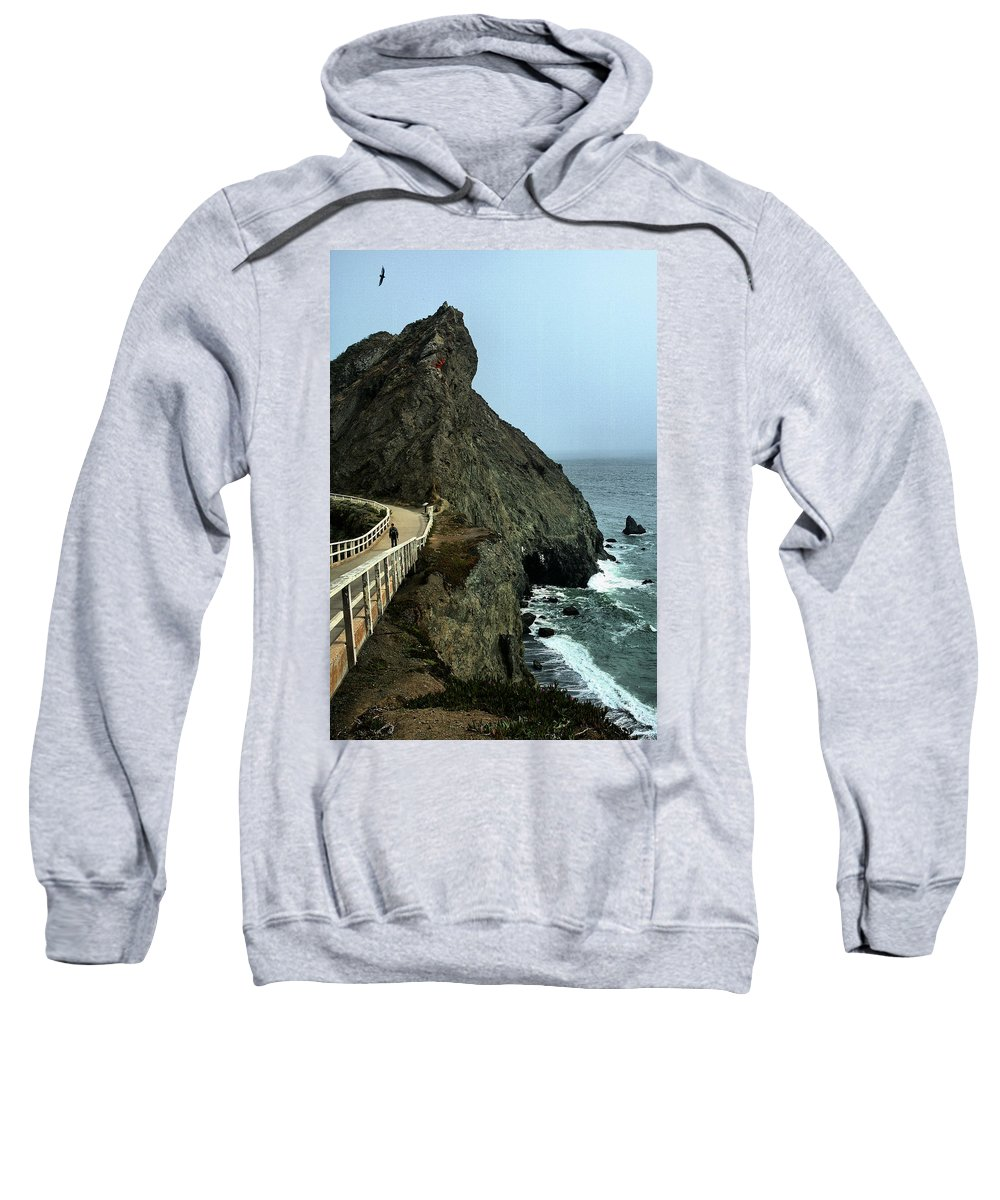 Bonita Sweatshirt featuring the photograph Bonita Point by Michael Gordon