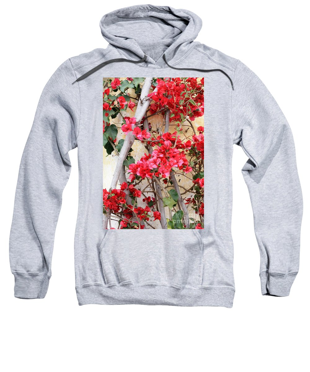 Bougainvilla Sweatshirt featuring the photograph Bougainvillea by Carol Groenen