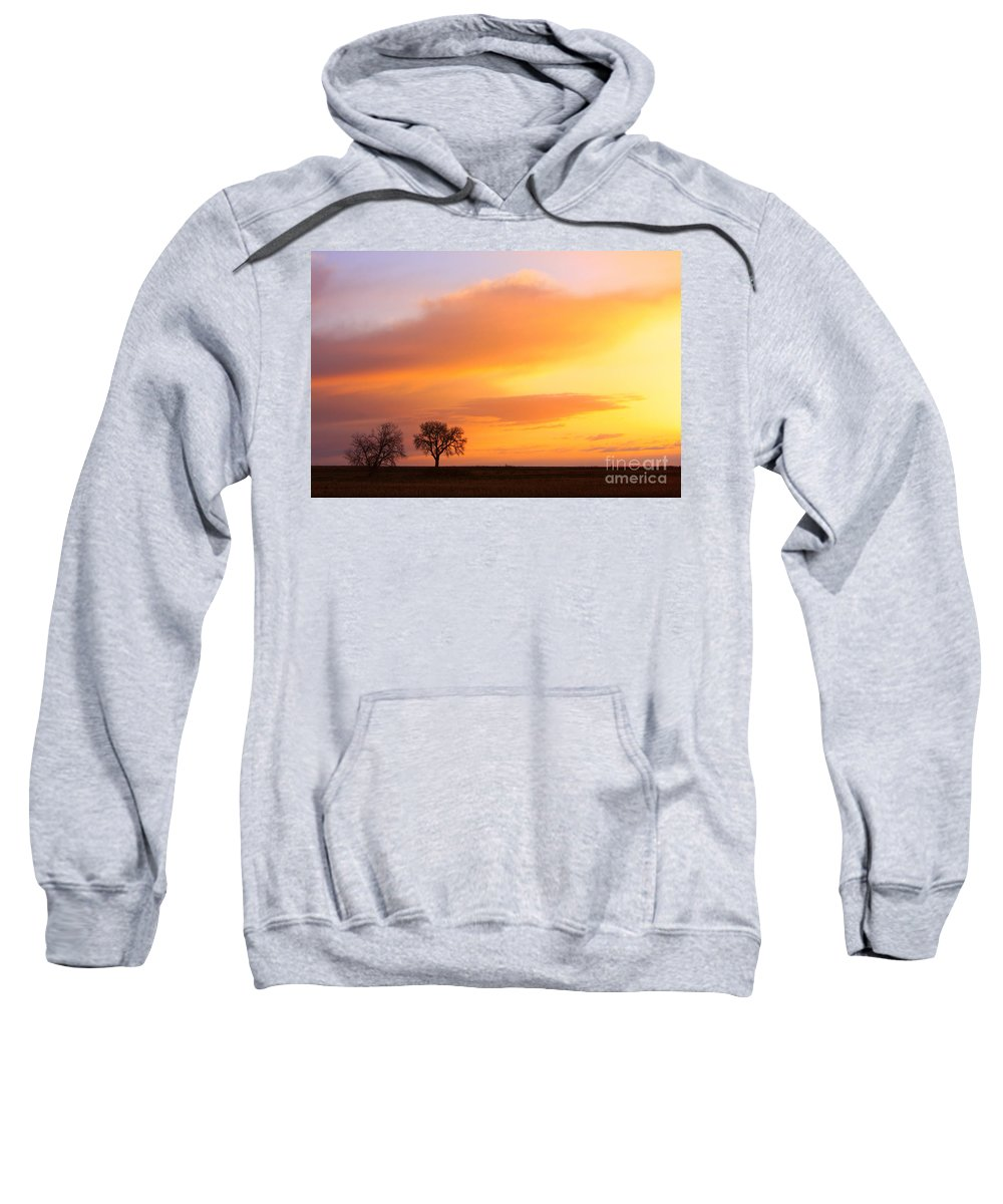 Sunrise Sweatshirt featuring the photograph Boulder County Sunrise by James BO Insogna