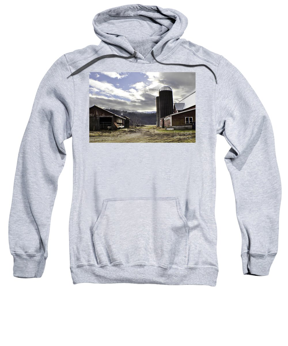 Art Sweatshirt featuring the photograph Break In The Clouds by Clayton Bruster