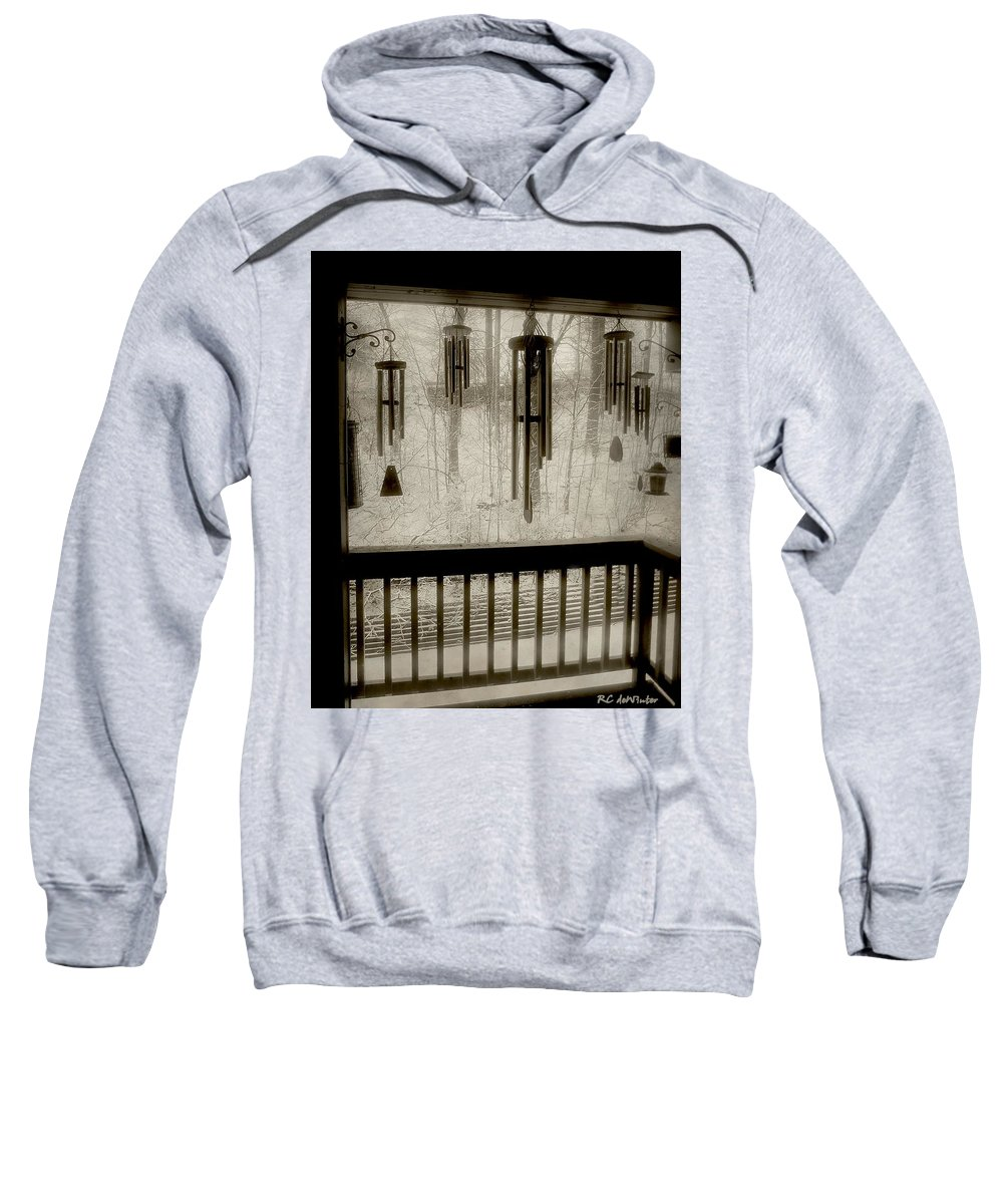 Balcony Sweatshirt featuring the photograph Breathe Deep The Gathering Gloom by RC DeWinter