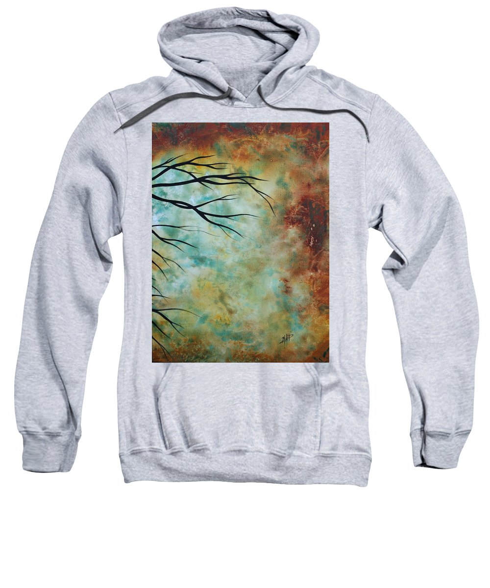Art Sweatshirt featuring the painting Breathless 3 By Madart by Megan Duncanson
