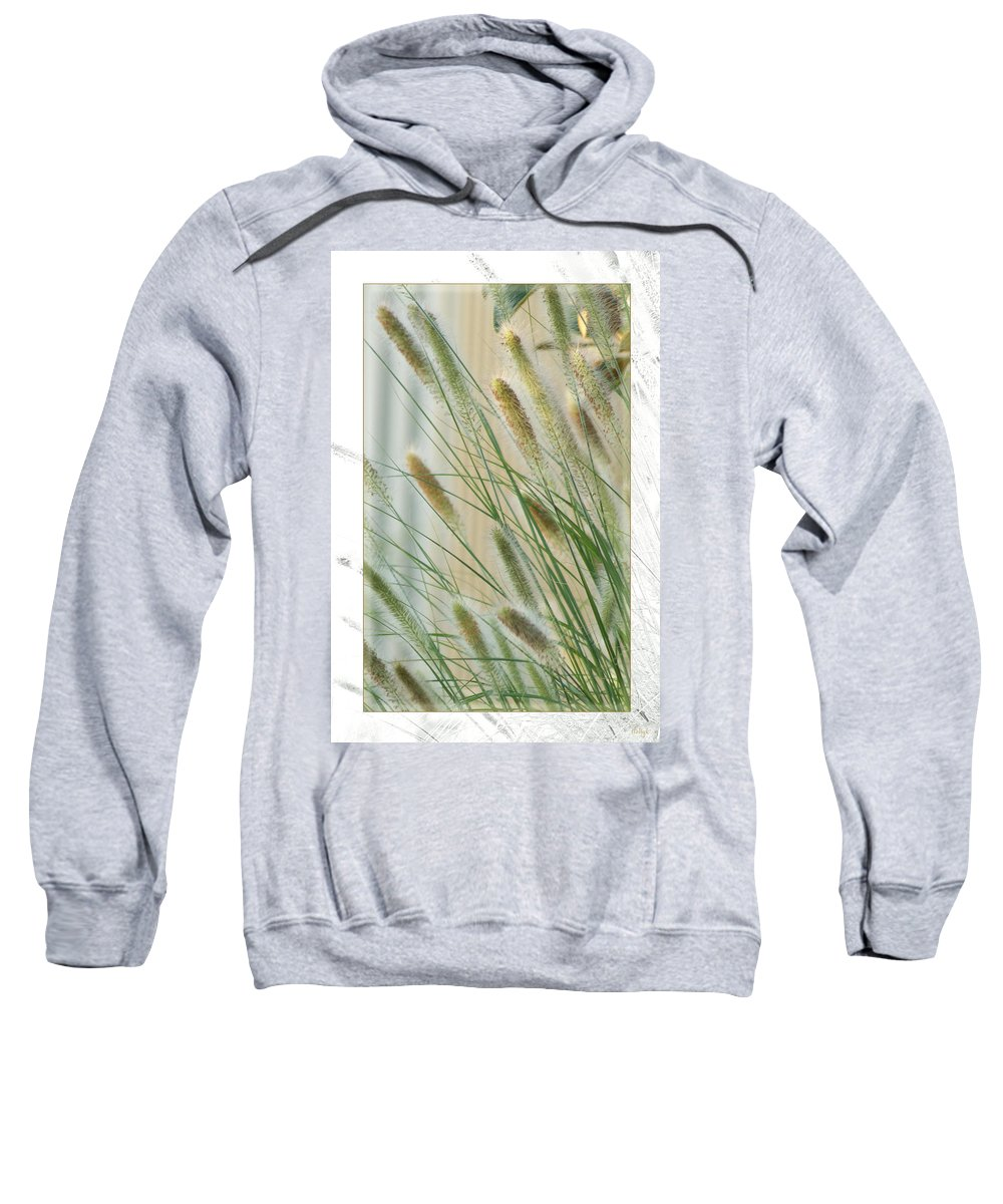 Floral Sweatshirt featuring the photograph Breeze by Holly Kempe
