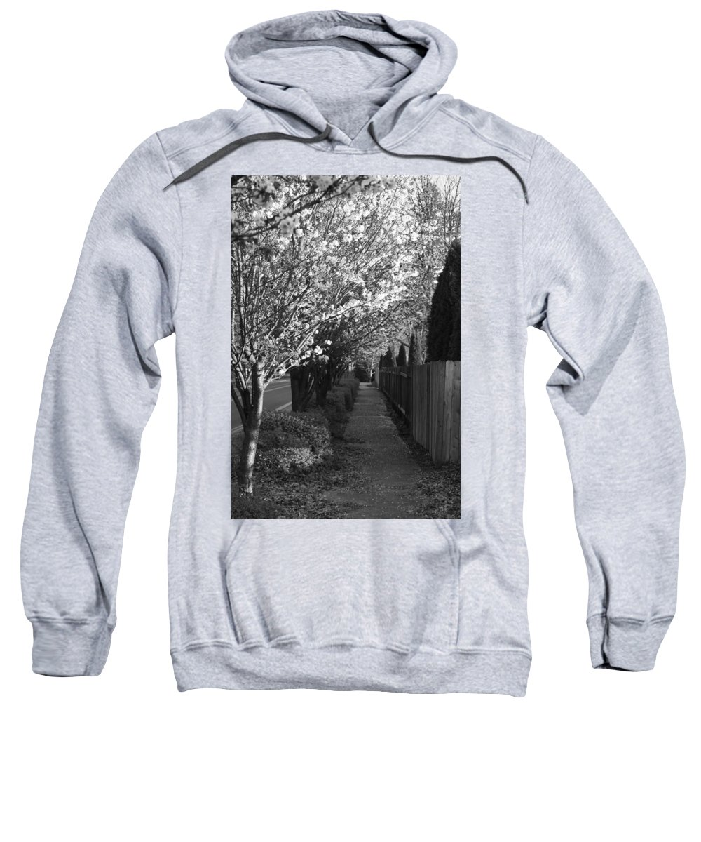 Sweatshirt featuring the photograph Bride's Aisle by Crooked Cat Art and Photography