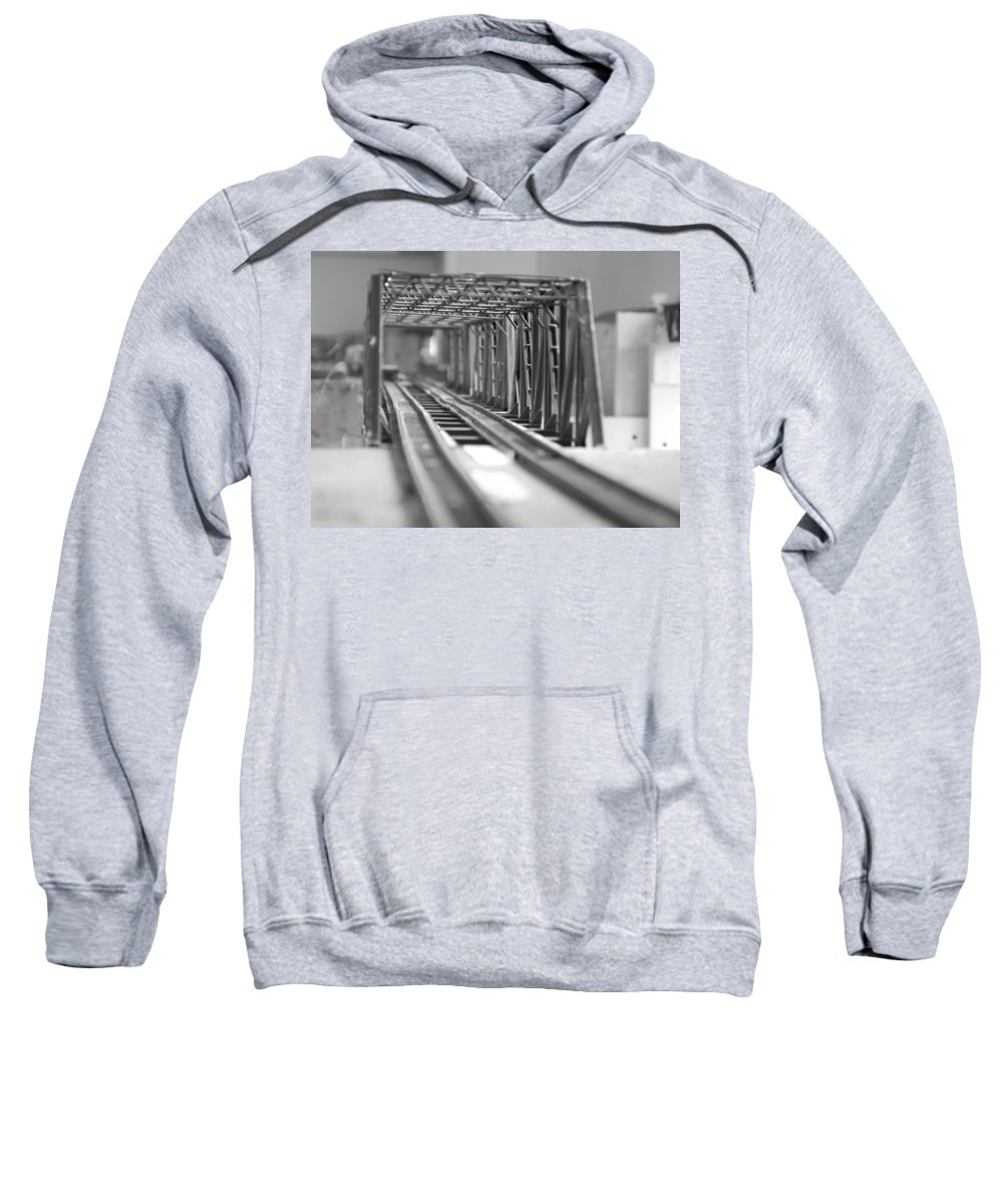 Models Sweatshirt featuring the photograph Bridge To Jerry Town by Margaret Fortunato