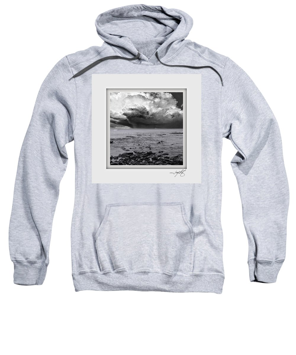 Columbia Gorge Sweatshirt featuring the photograph Brookings by Ingrid Smith-Johnsen