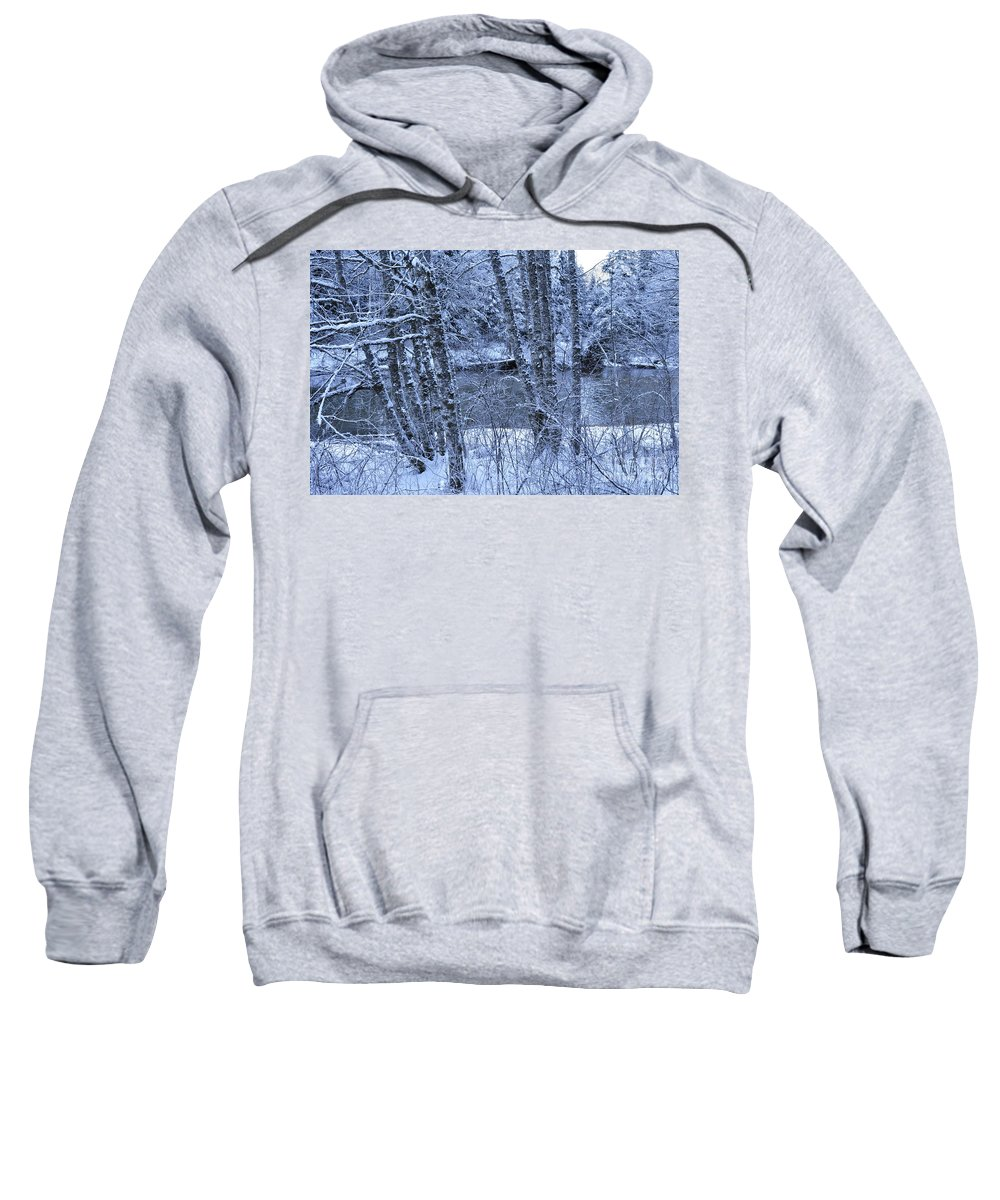 Clay Sweatshirt featuring the photograph Brrrrr by Clayton Bruster