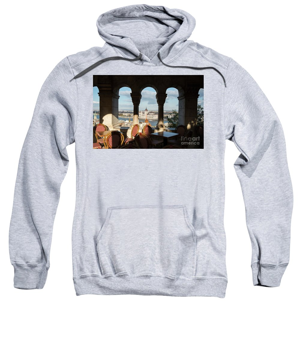 Budapest Sweatshirt featuring the photograph Budapest I by Yuri Santin