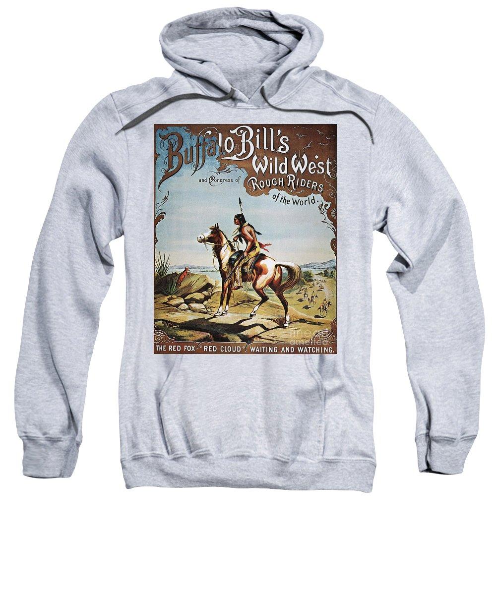 19th Century Sweatshirt featuring the photograph Buffalo Bills Show Poster by Granger