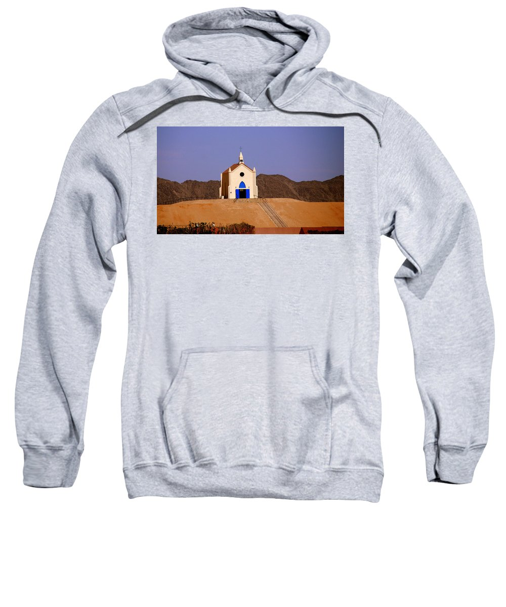 Built Of Sand Sweatshirt featuring the photograph Built Of Sand by Susanne Van Hulst