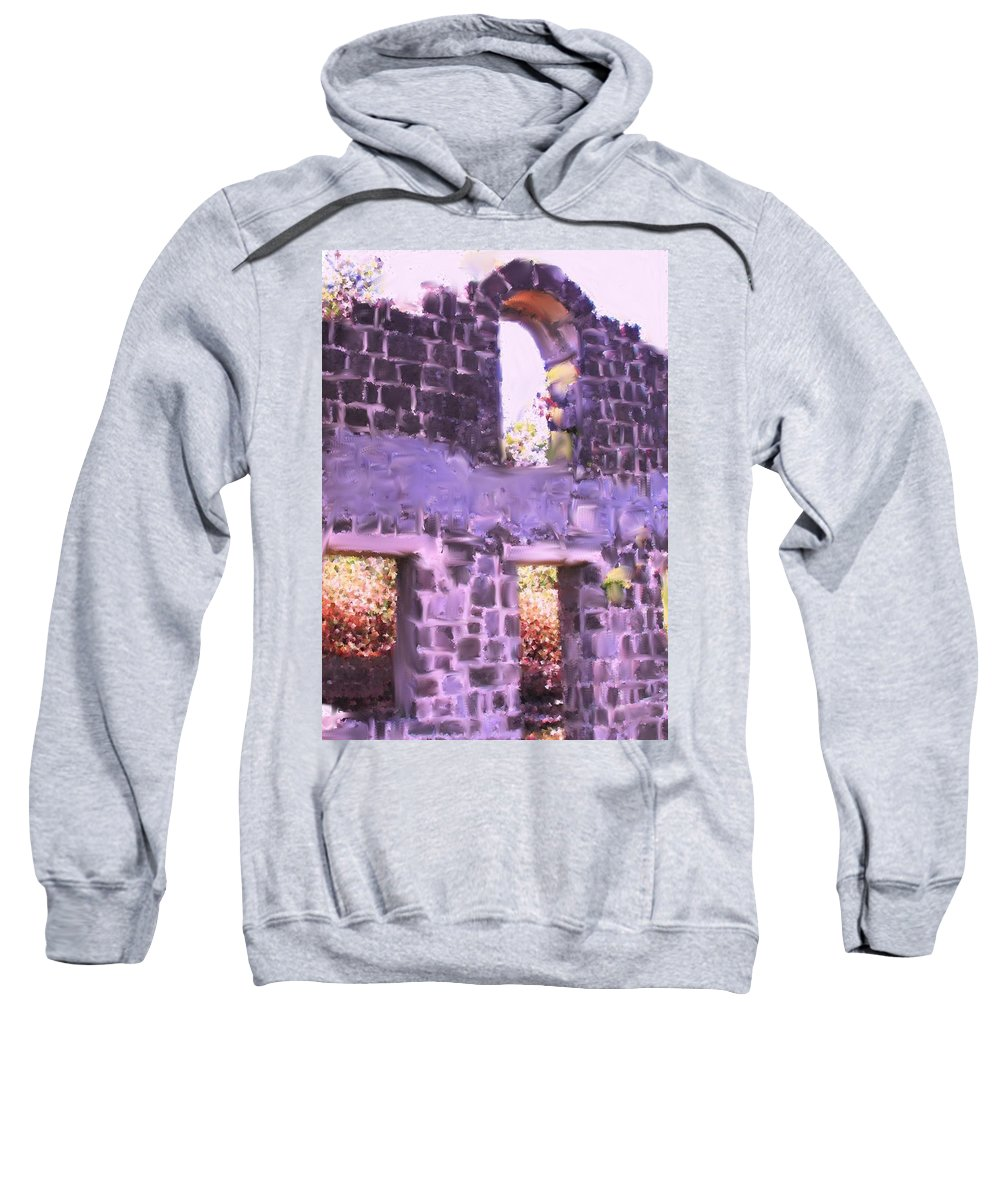 St Kitts Sweatshirt featuring the photograph Built To Last by Ian MacDonald