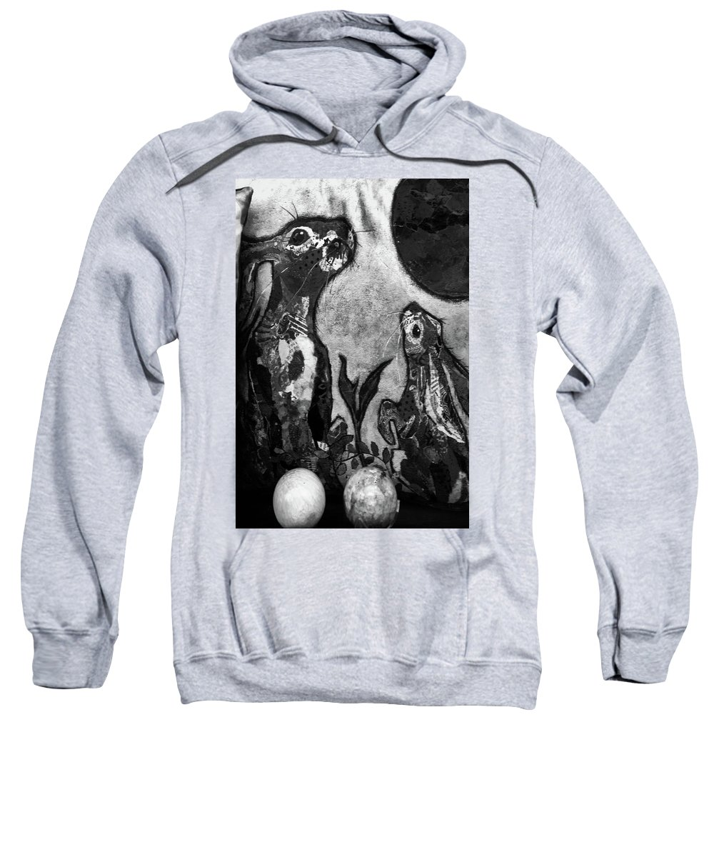 Hebden Sweatshirt featuring the photograph Bun Up by Jez C Self