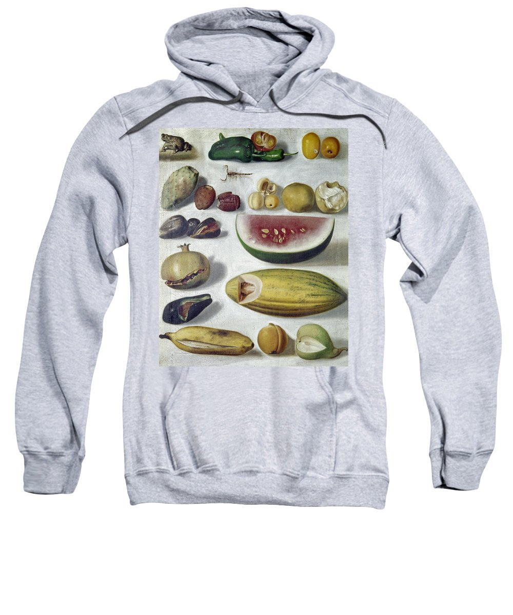1874 Sweatshirt featuring the photograph Bustos: Still Life, 1874 by Granger