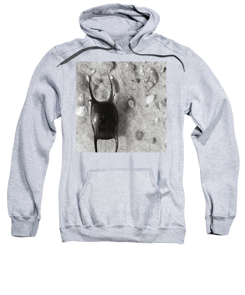 Skate Sweatshirt featuring the photograph bw1 by Charles Harden