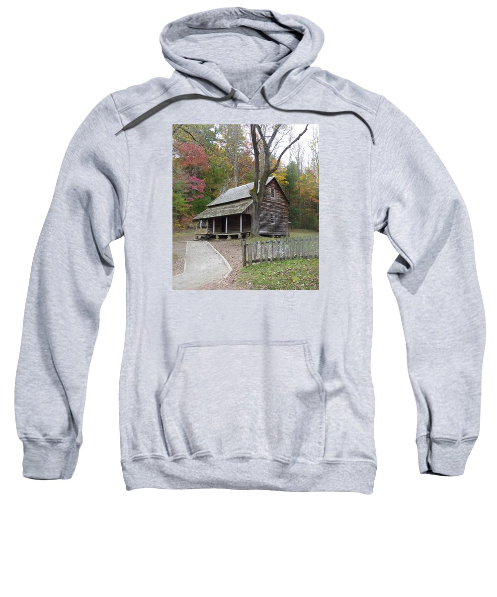 Landscape Sweatshirt featuring the photograph Cades Cove 2 by Cindy McFadden