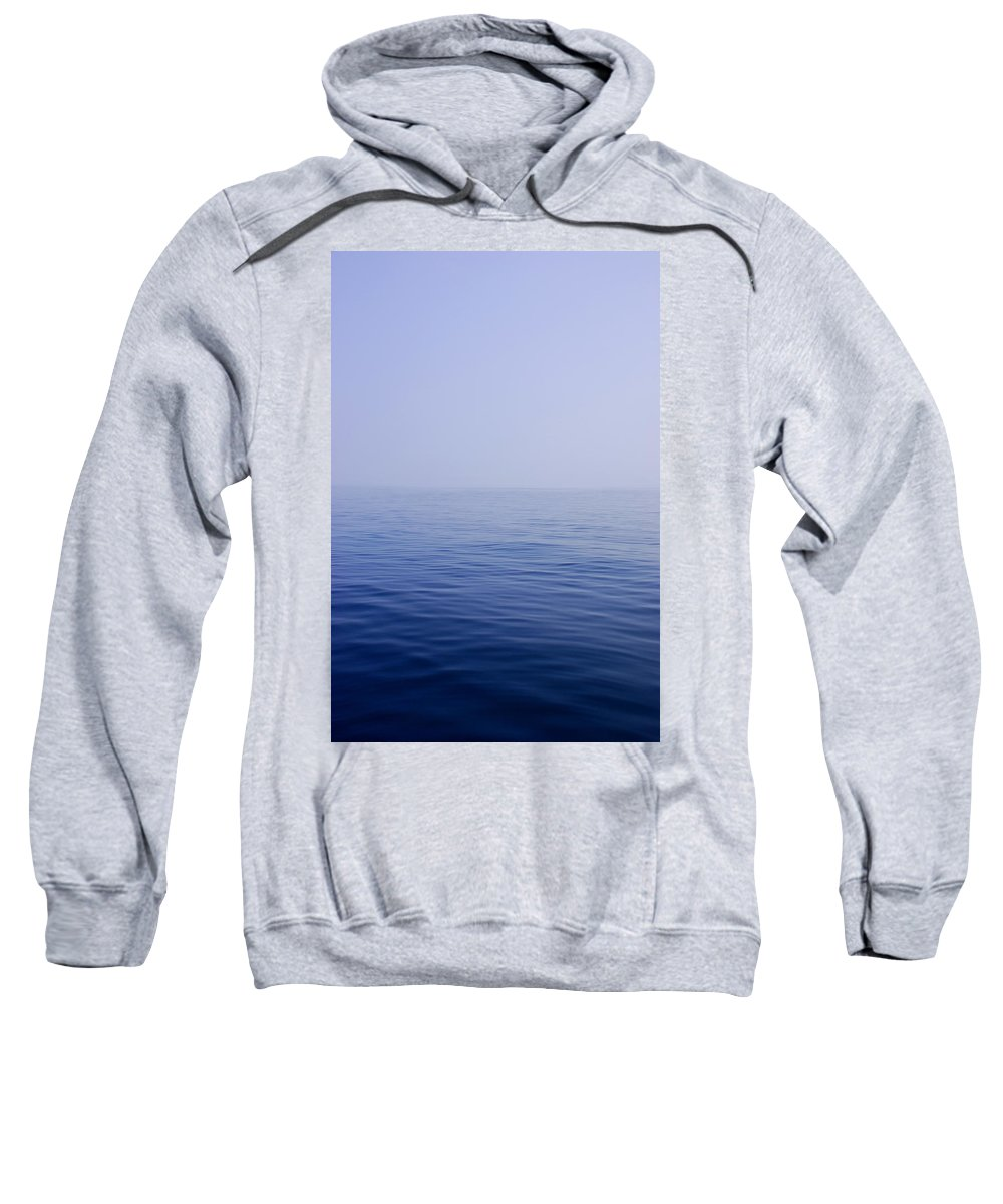 Calm Sweatshirt featuring the photograph Calm Sea by Charles Harden
