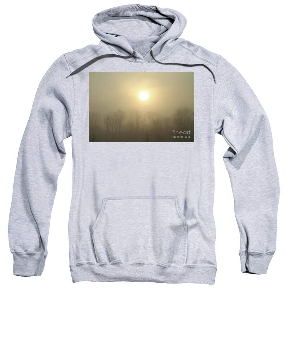 Sunrise Sweatshirt featuring the photograph Calming Sunrise by Karol Livote
