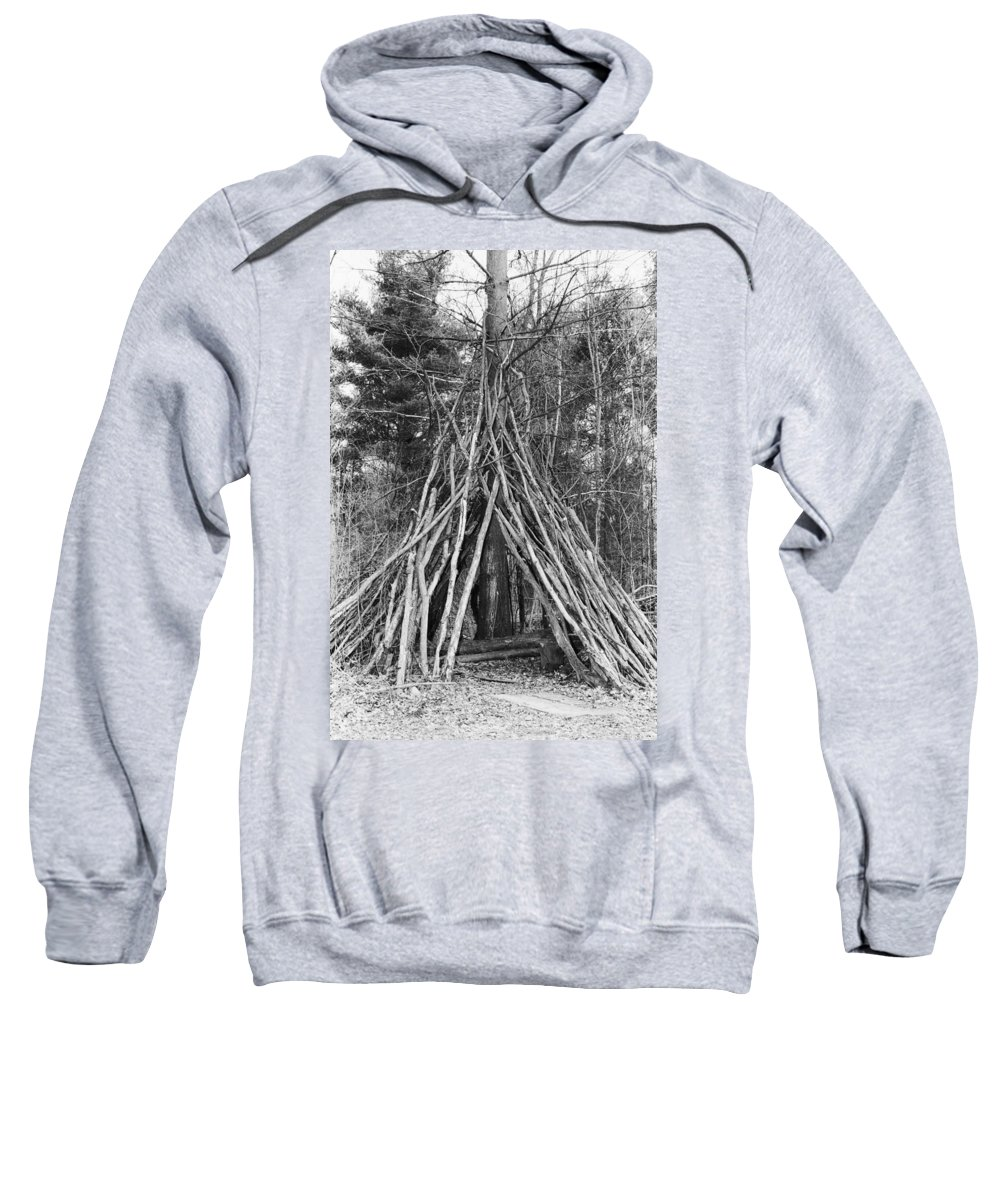 Camping Sweatshirt featuring the photograph Camping by Jennifer Cole