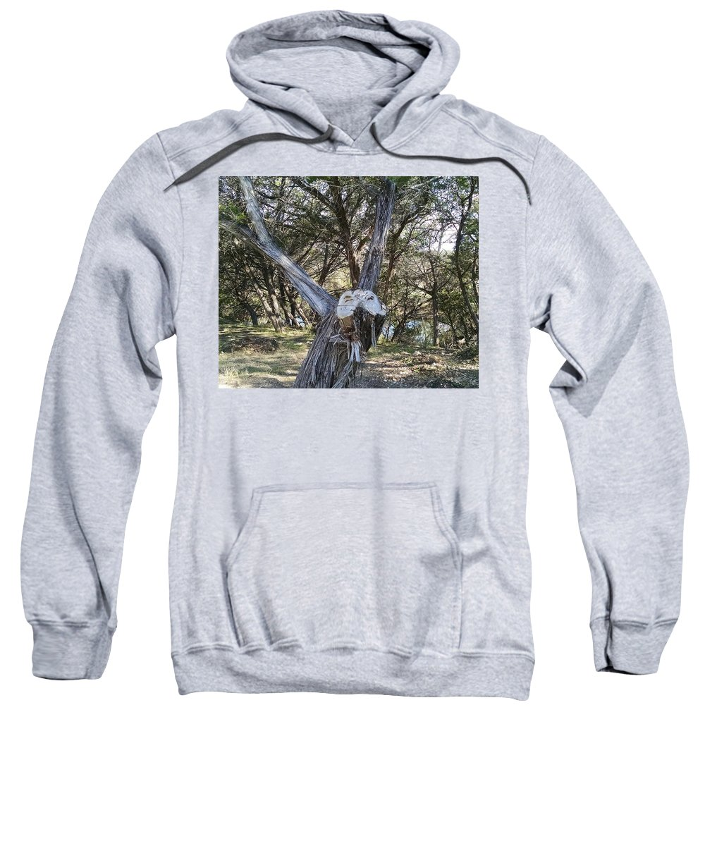 Texas Sweatshirt featuring the photograph Can You See It? by J L Hodges