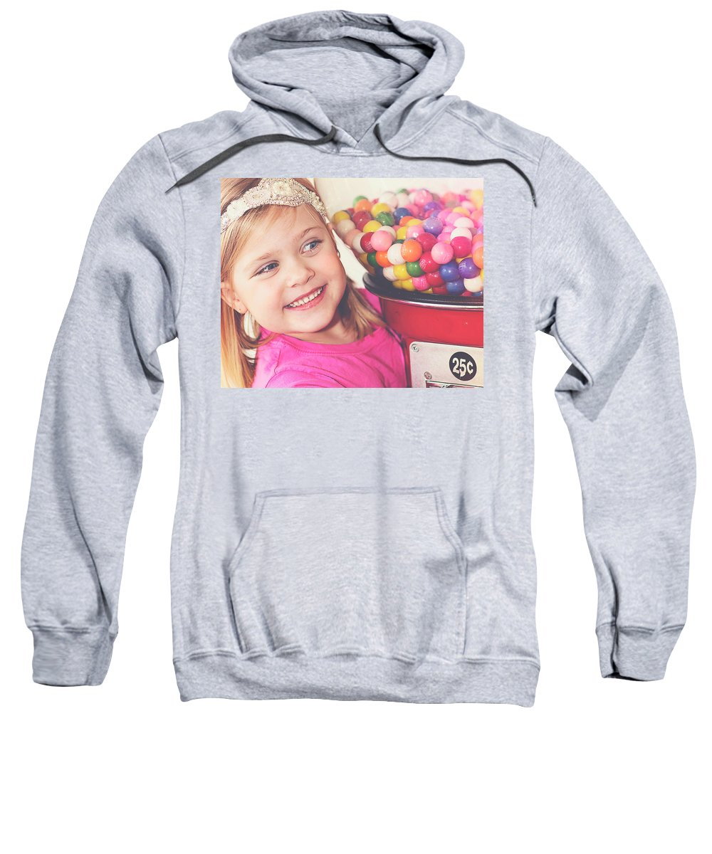 Candy Gumballs Girl Sweatshirt featuring the photograph Candy by Melissa Deanching