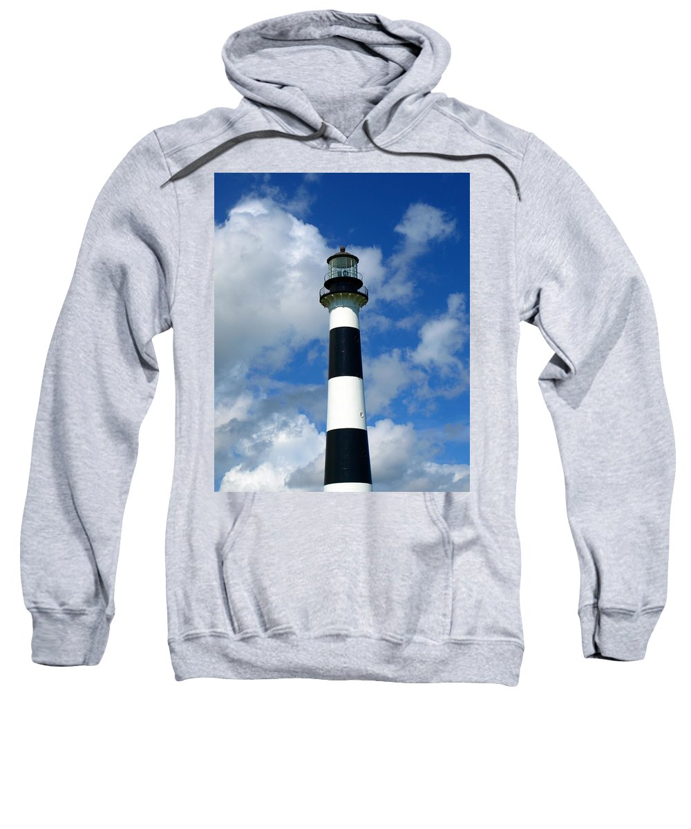 Sweatshirt featuring the photograph Canveral Light by Allan Hughes