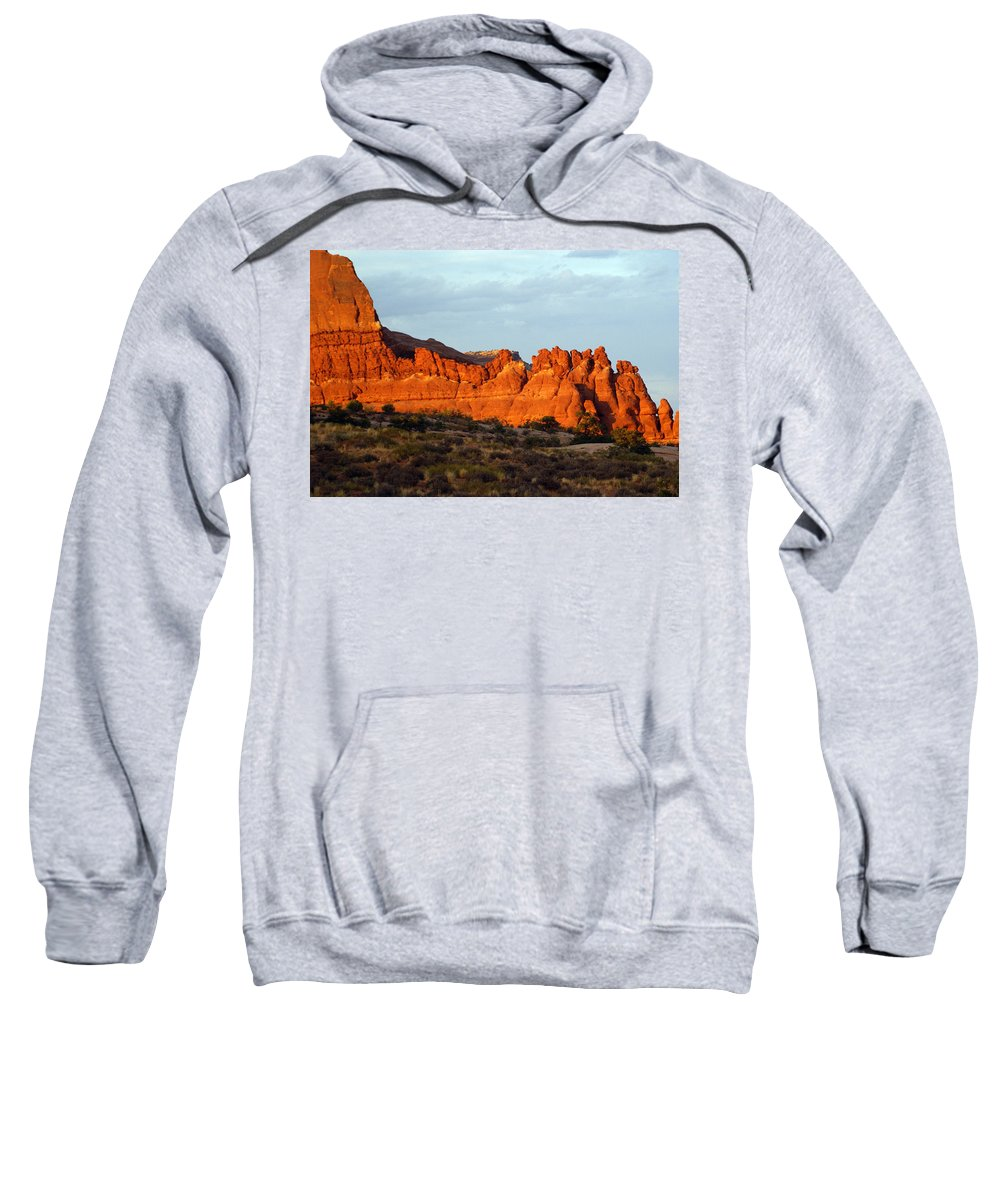 Utah Sweatshirt featuring the photograph Canyonlands At Sunset by Marty Koch